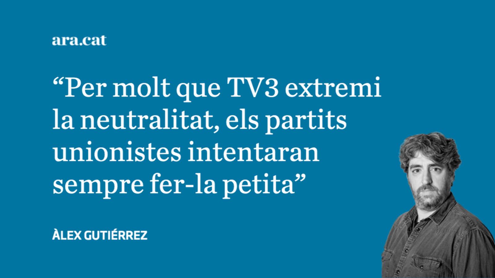 El problema no és que Iceta o Carrizosa punxin a TV3