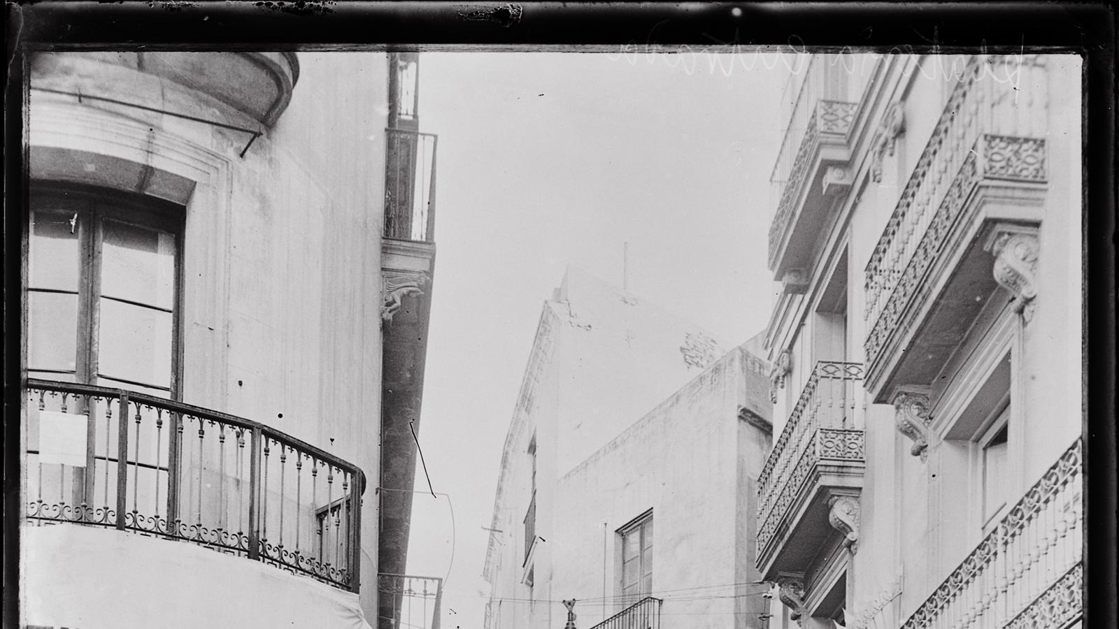 Carrer de l'Argenteria, 1908