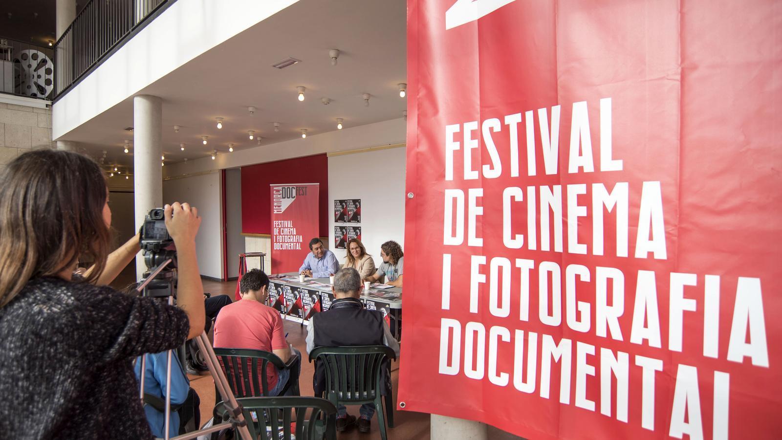 Imatge de la presentació del festival