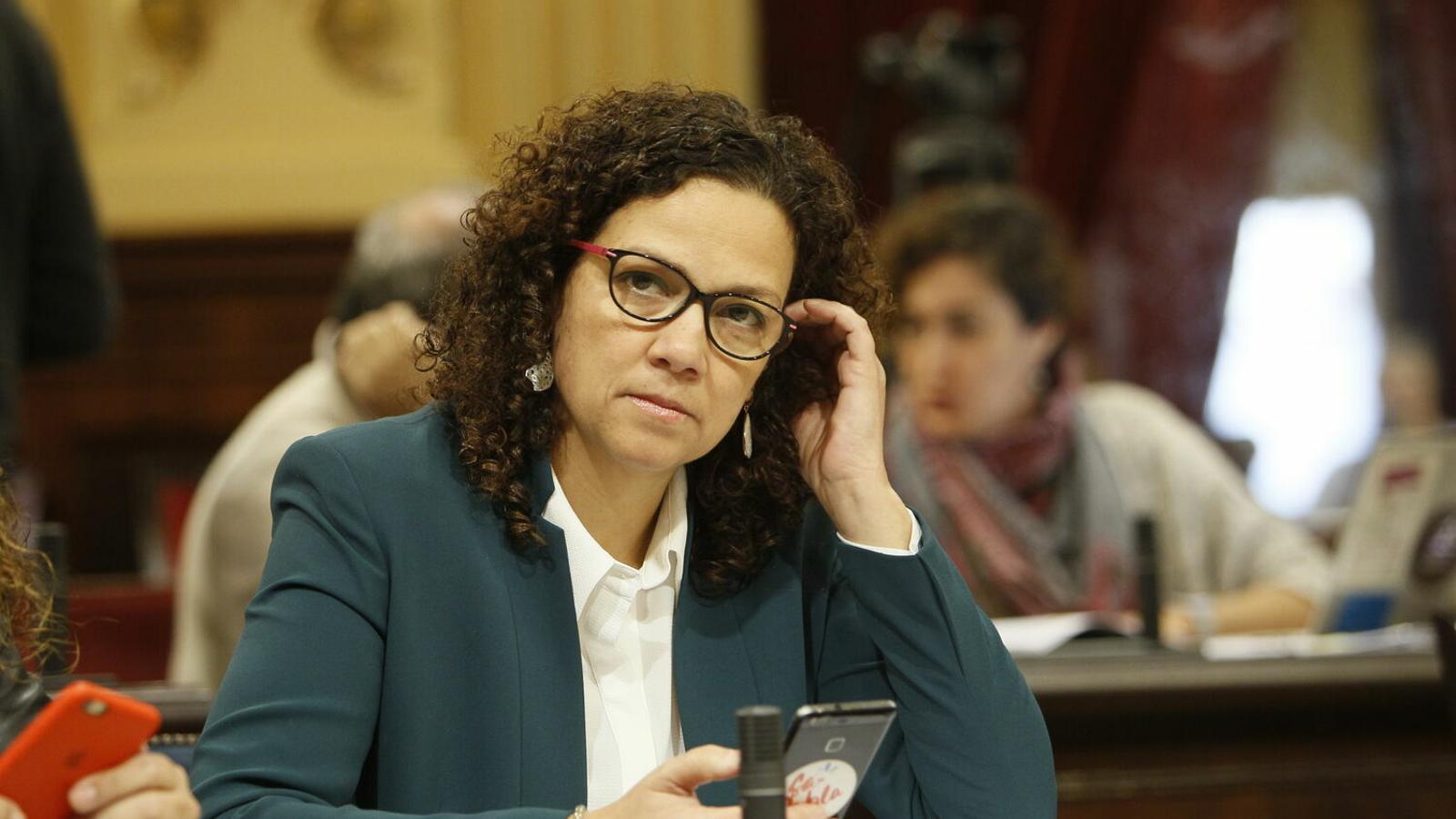 La consellera d'Hisenda, Catalina Cladera.