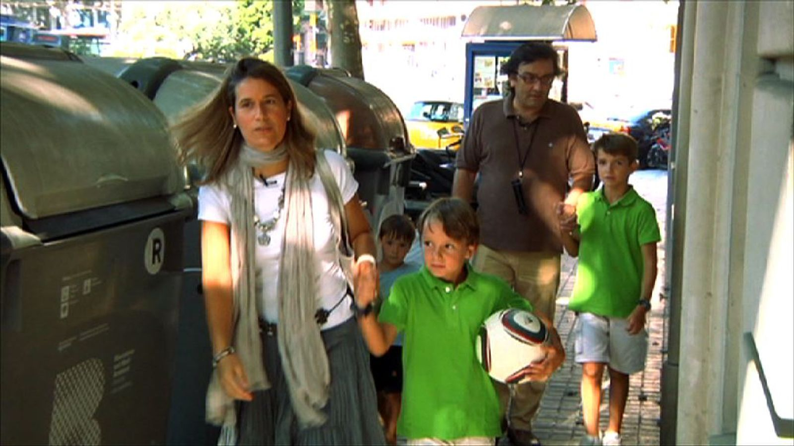 Criatures: Els meus fills em fan de guia a mi pel carrer