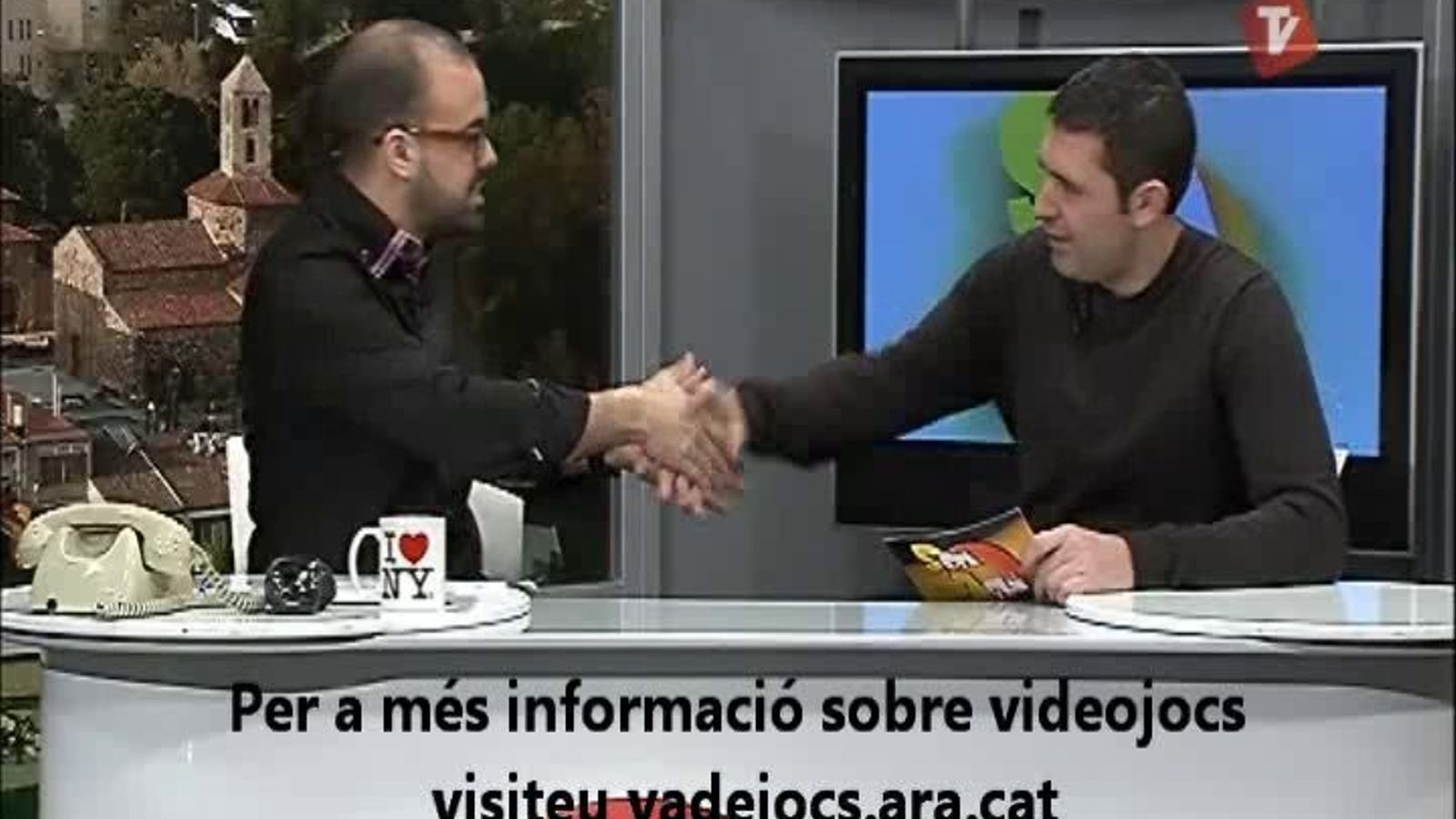 Ara VaDeJocs al Som Aquí del Canal Terrassa Vallès (13/02/2012)