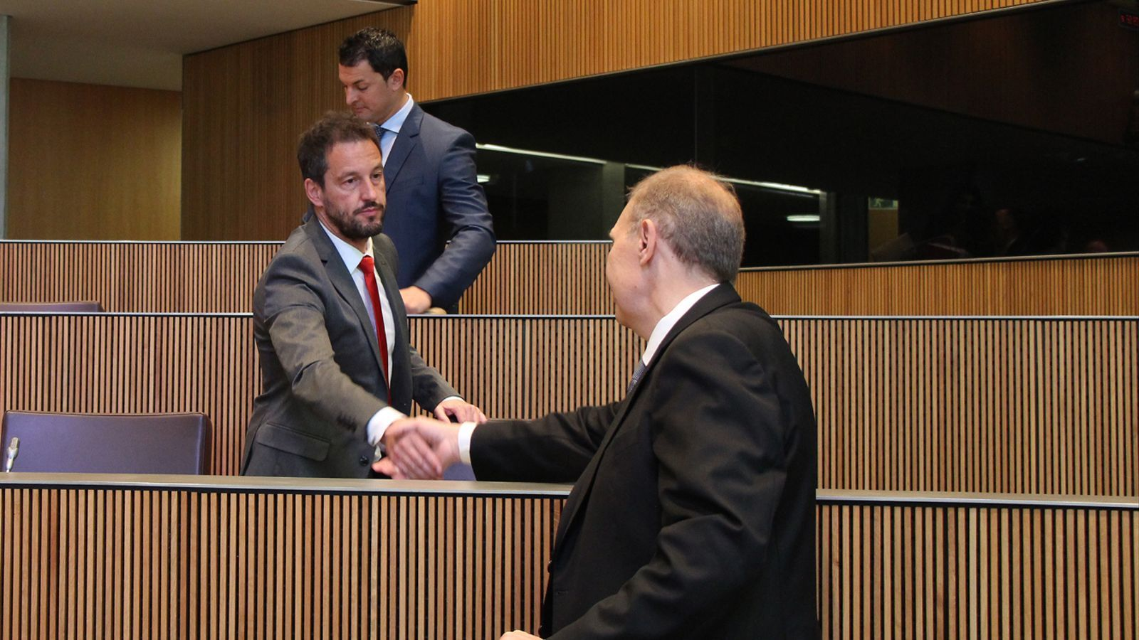 Pintat i López, al Consell General. / ARXIU