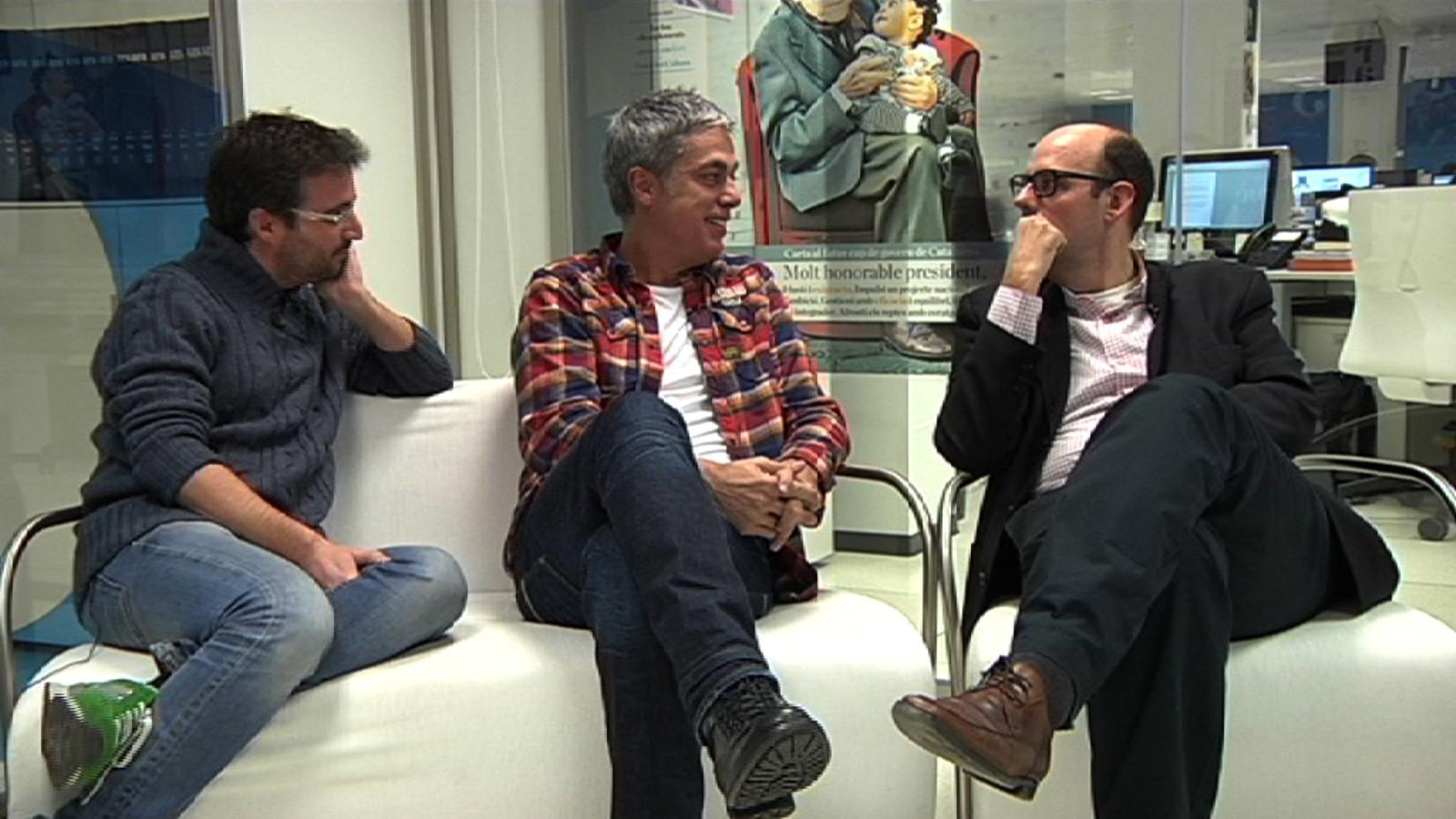 Albert Om, sobre l'Ondas: Per als que treballem en català i a Catalunya, és més difícil que ens donin un premi espanyol