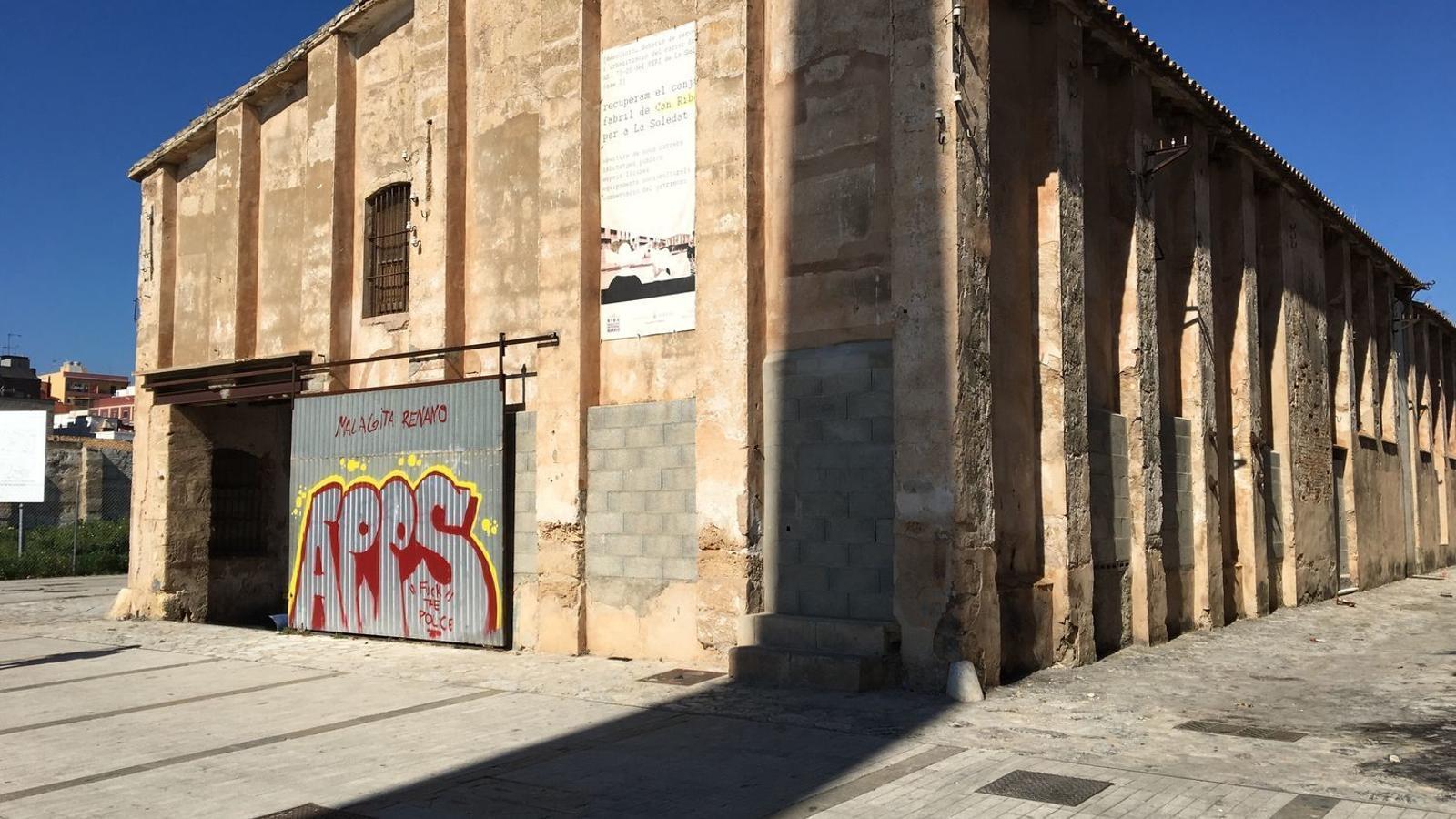 Fàbrica Can Ribas al barri de la Soledat