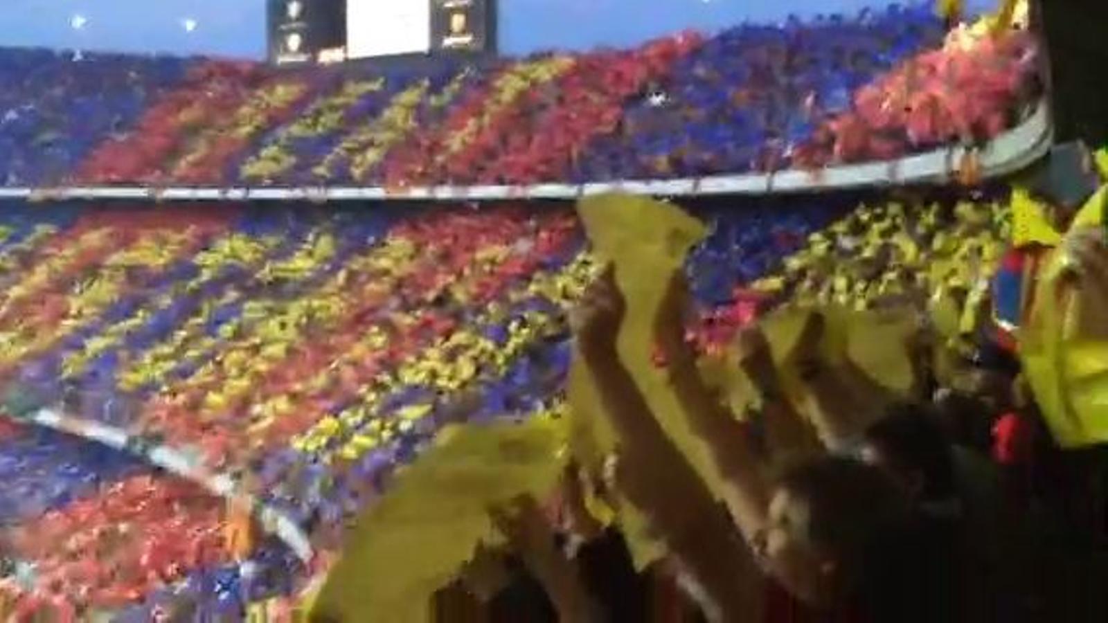 Xiulada massiva a l'himne espanyol abans de la final de la Copa del Rei