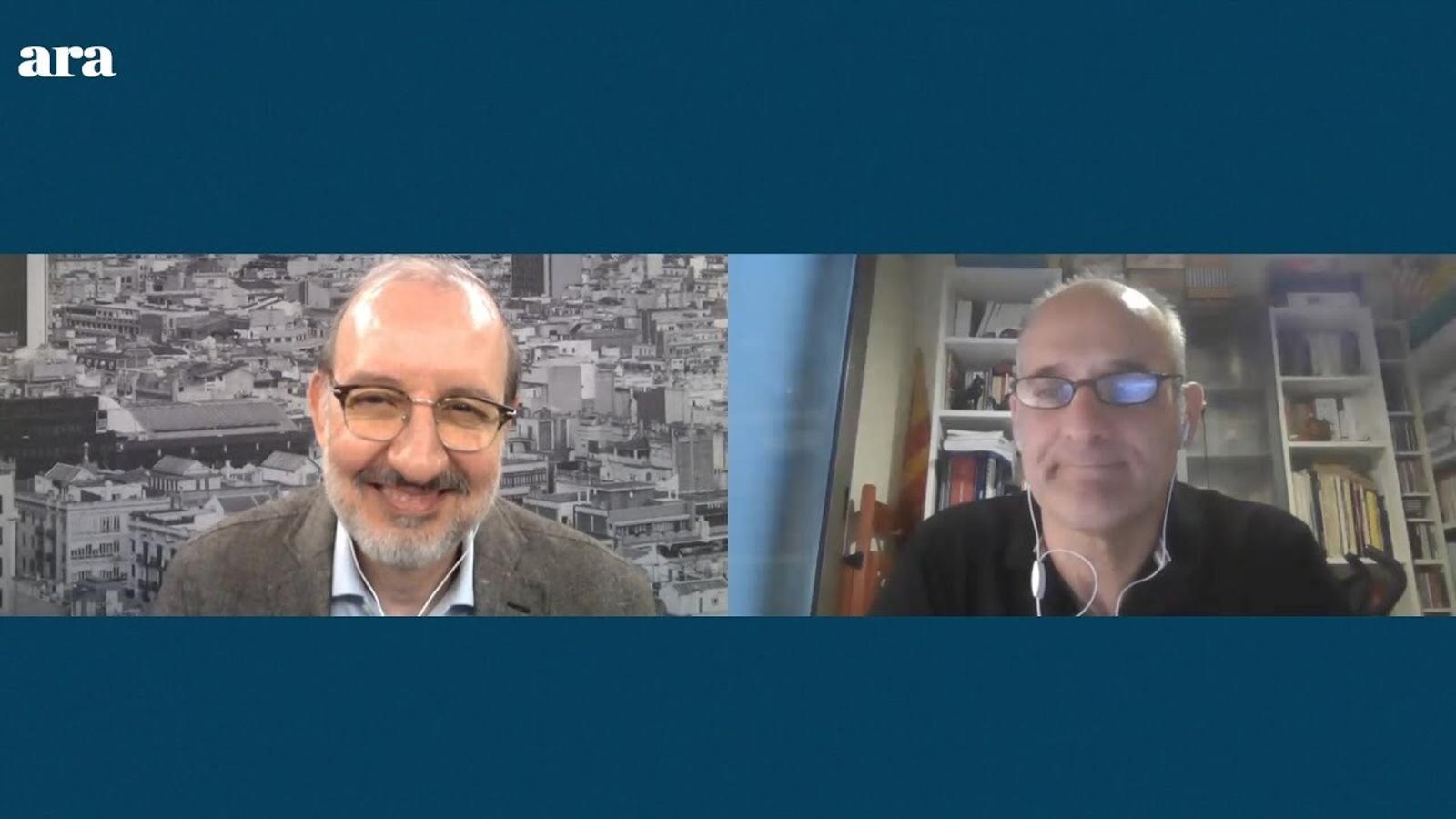 Entrevista d'Antoni Bassas a Adam Majó