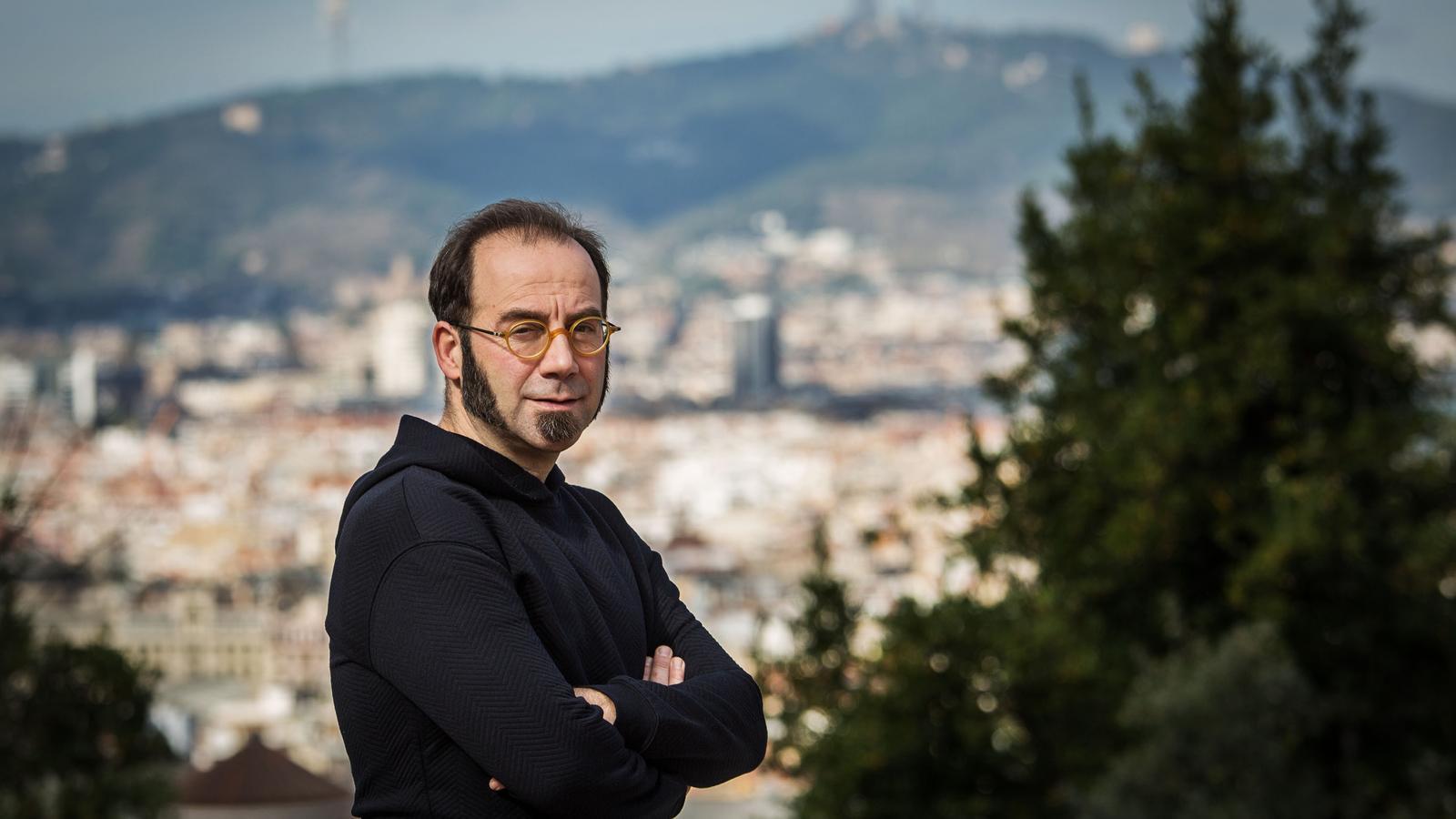 Pep Brocal a la Fundació Miró