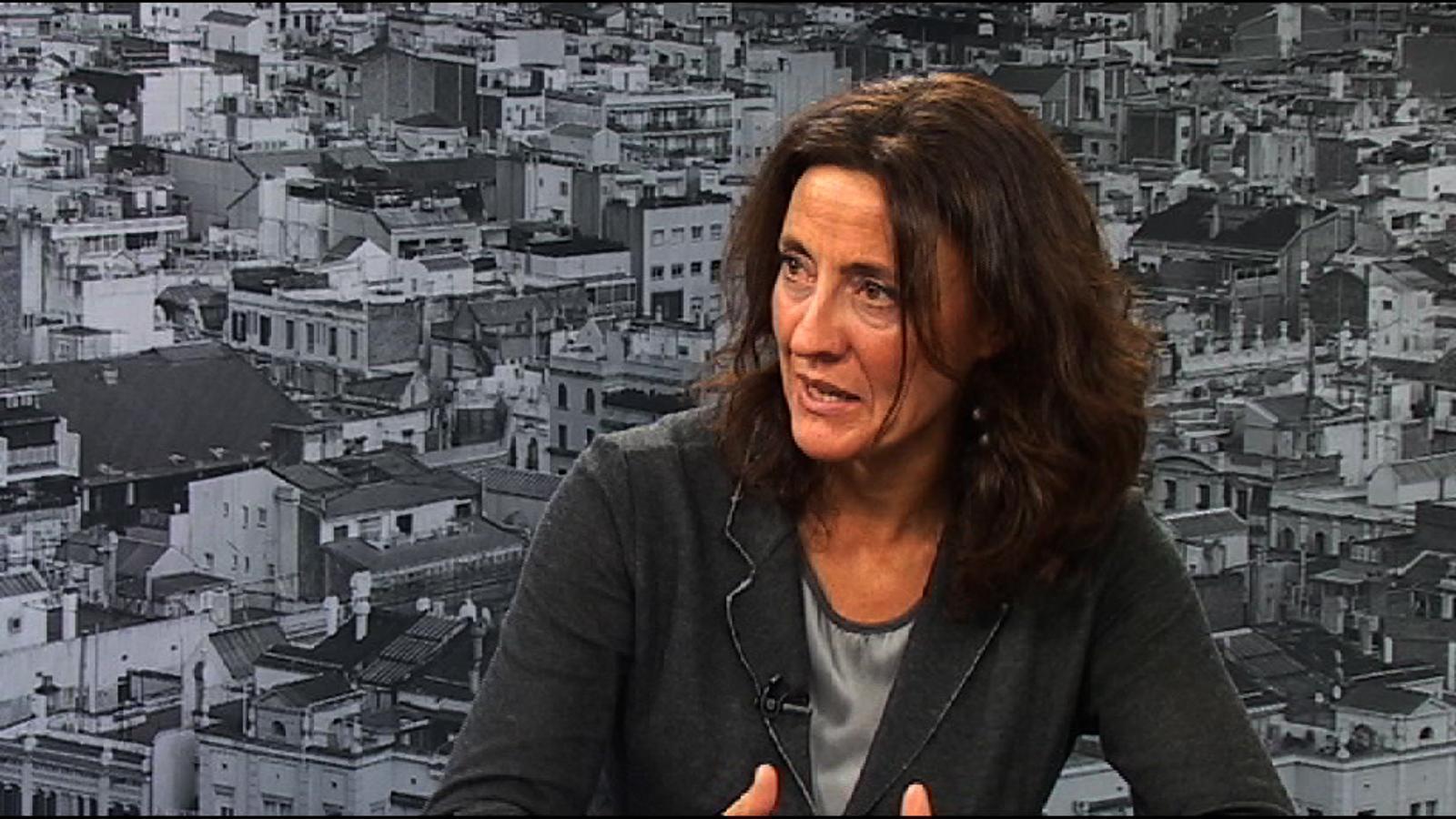 Mercè Conesa: Ens veiem amb cor d'afrontar unes eleccions en solitari