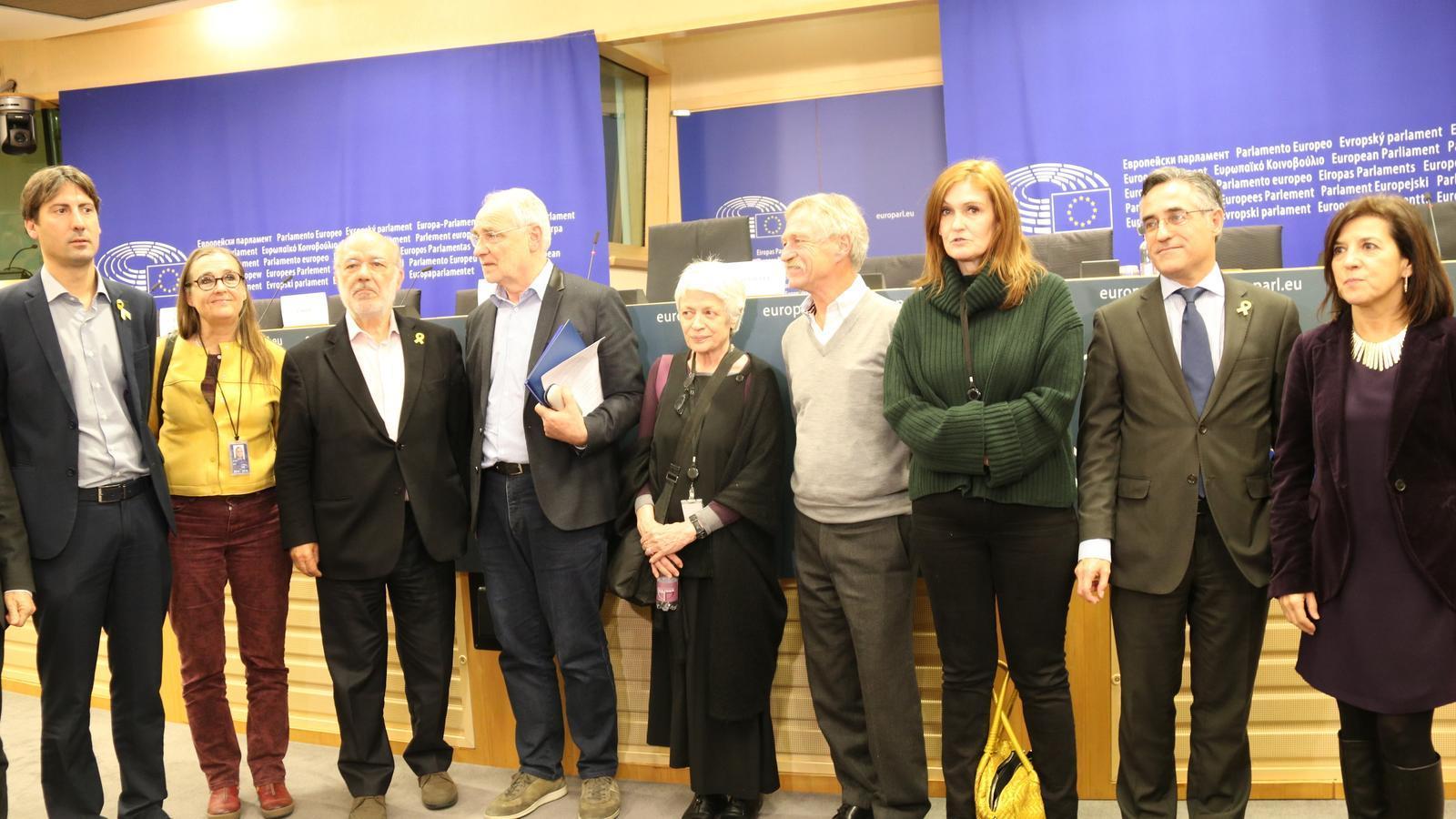 Eurodiputats han impulsat una plataforma de diàleg entre Catalunya i la UE