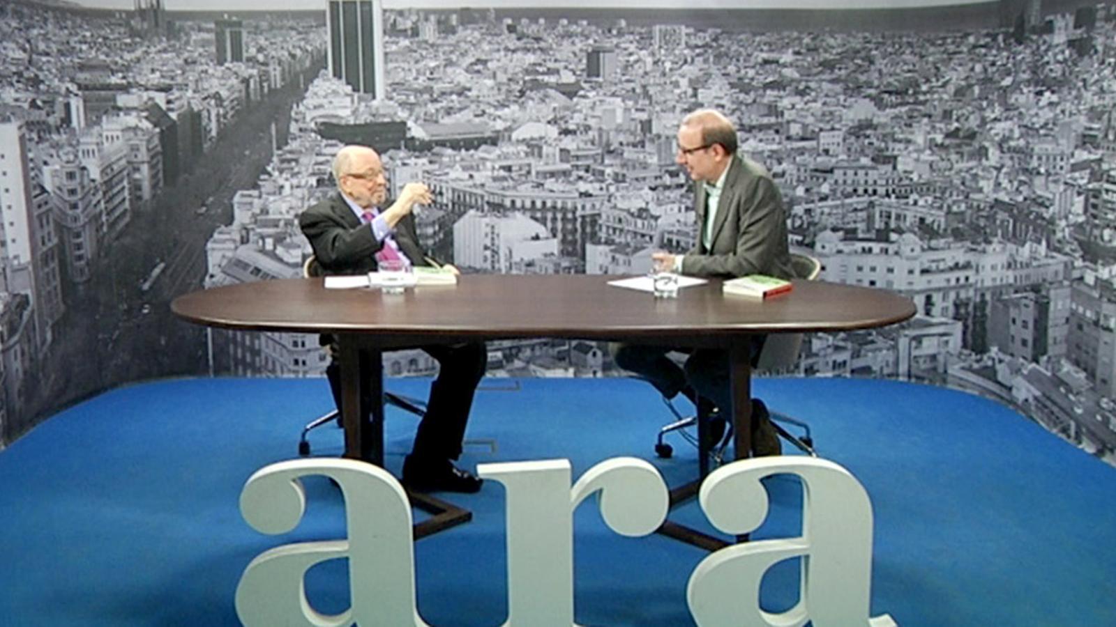 Entrevista d'Antoni Bassas a Francesc Sanuy