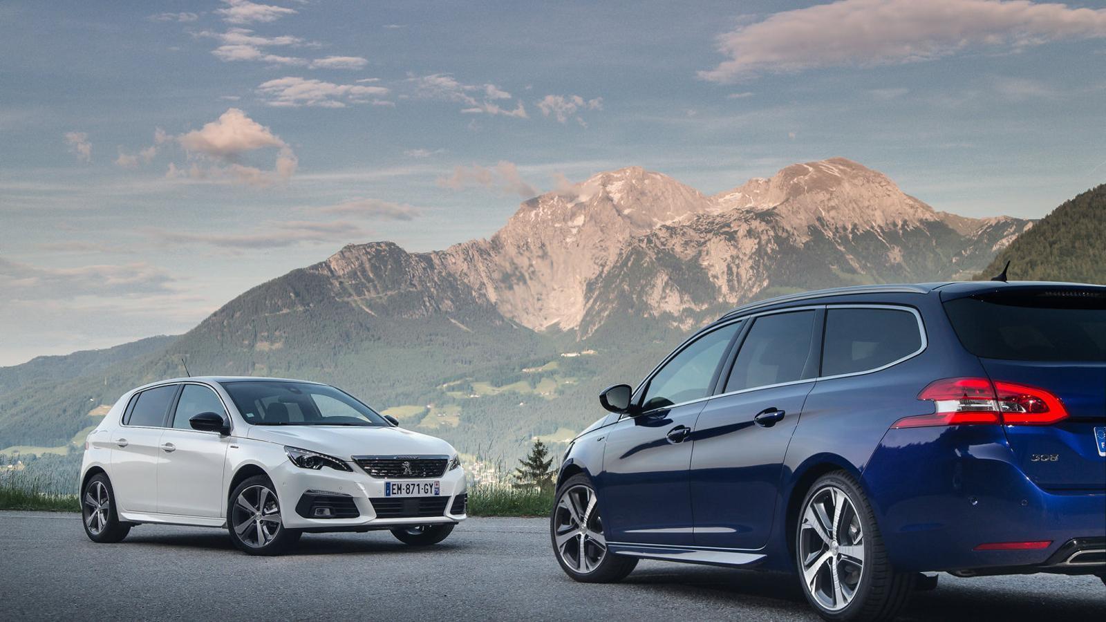 Peugeot 308: més opcions per als usuaris