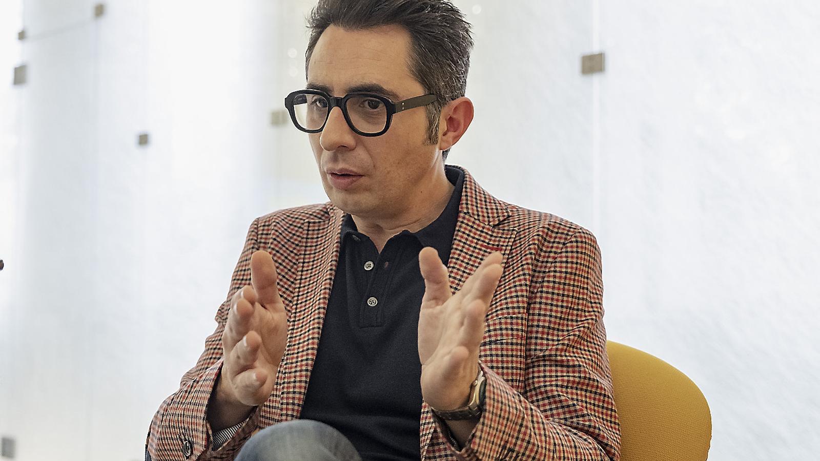 """Berto Romero : """"Un fill posa a prova la parella"""""""
