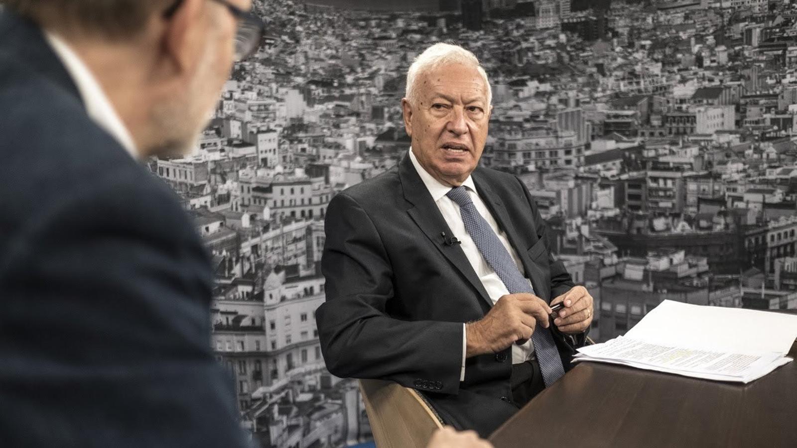Entrevista d'Antoni Bassas a José Manuel García-Margallo
