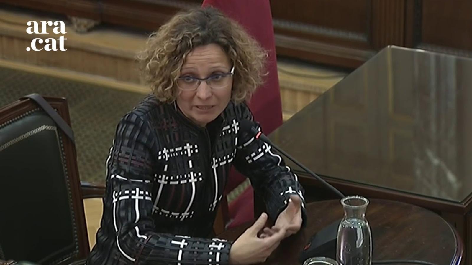 """Meritxell Ruiz: """"Era evident que s'incrementaria la tensió dialèctica"""""""