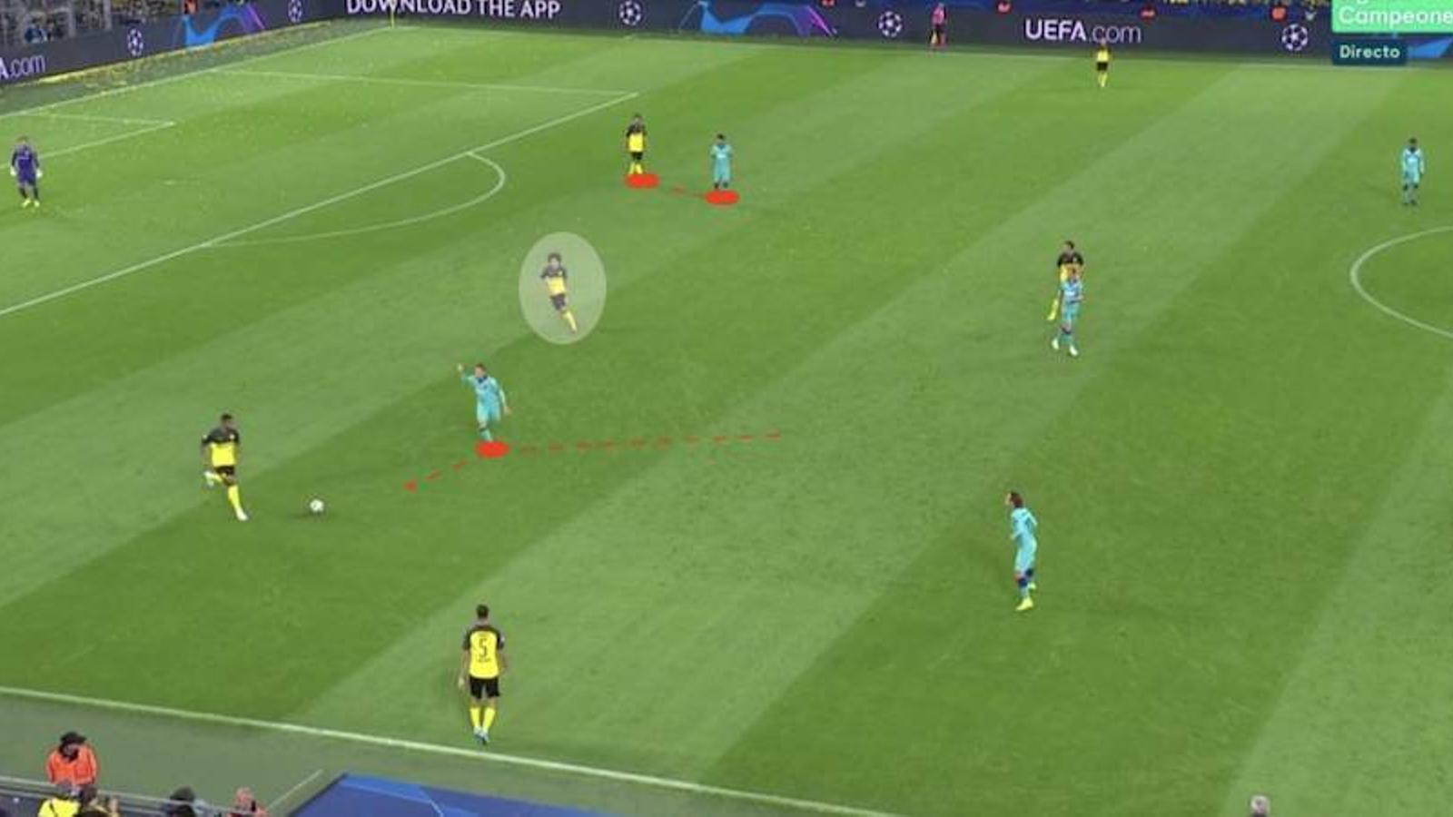Suárez s'enganxa a Hummels i Arthur salta al sector esquerre
