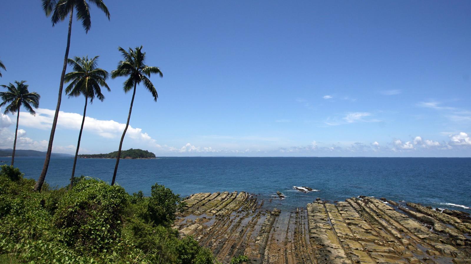Illa d'Andaman del Sud.