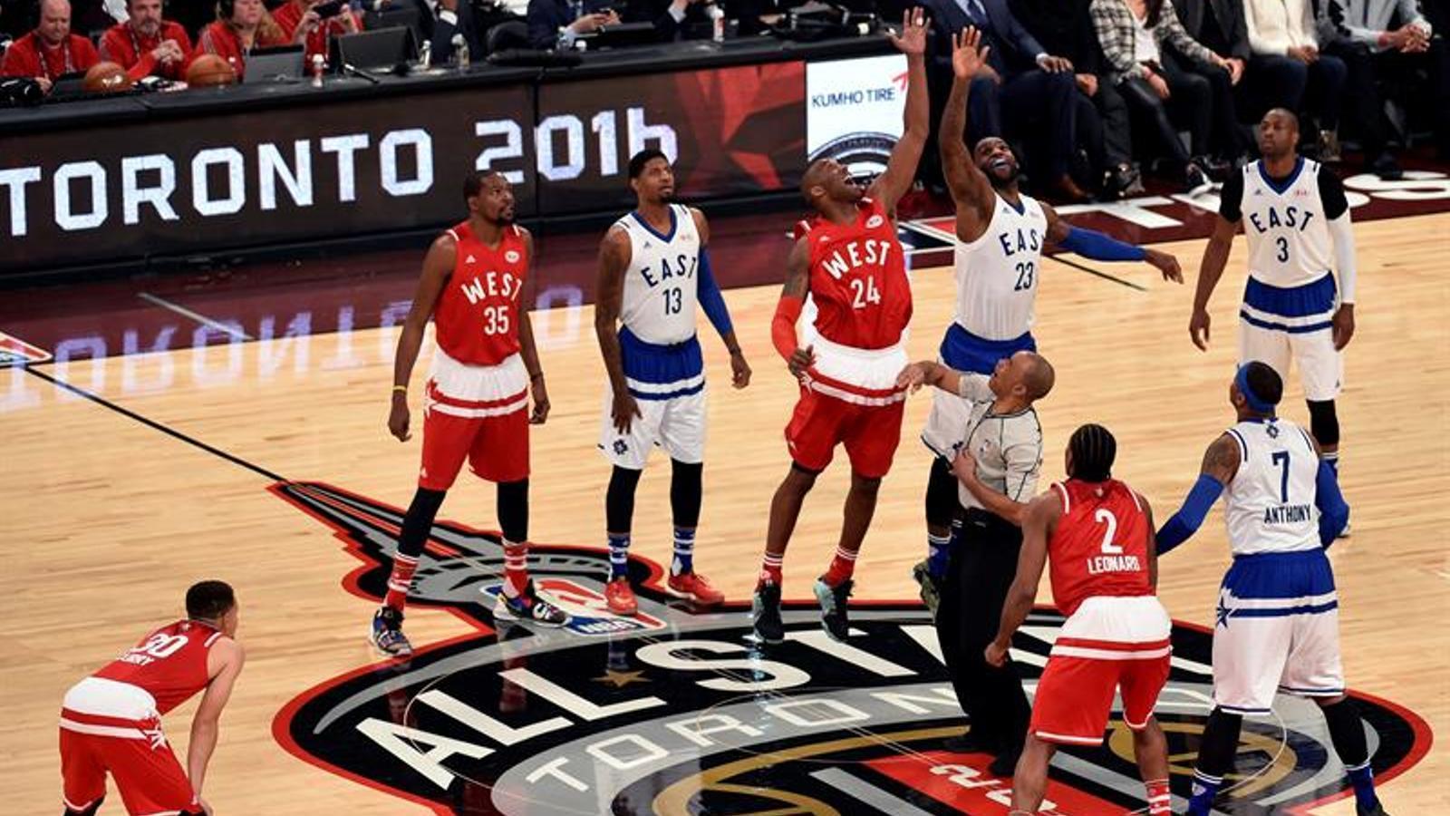 Kobe Bryant i LeBron James / EFE