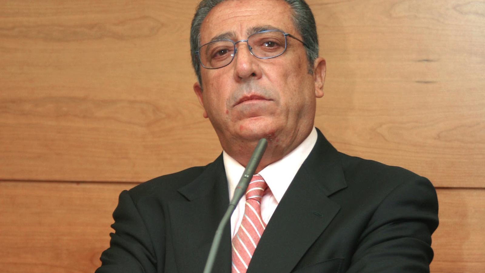 L'empresari Rafael Español en una imatge del 2002 a Palma de Mallorca
