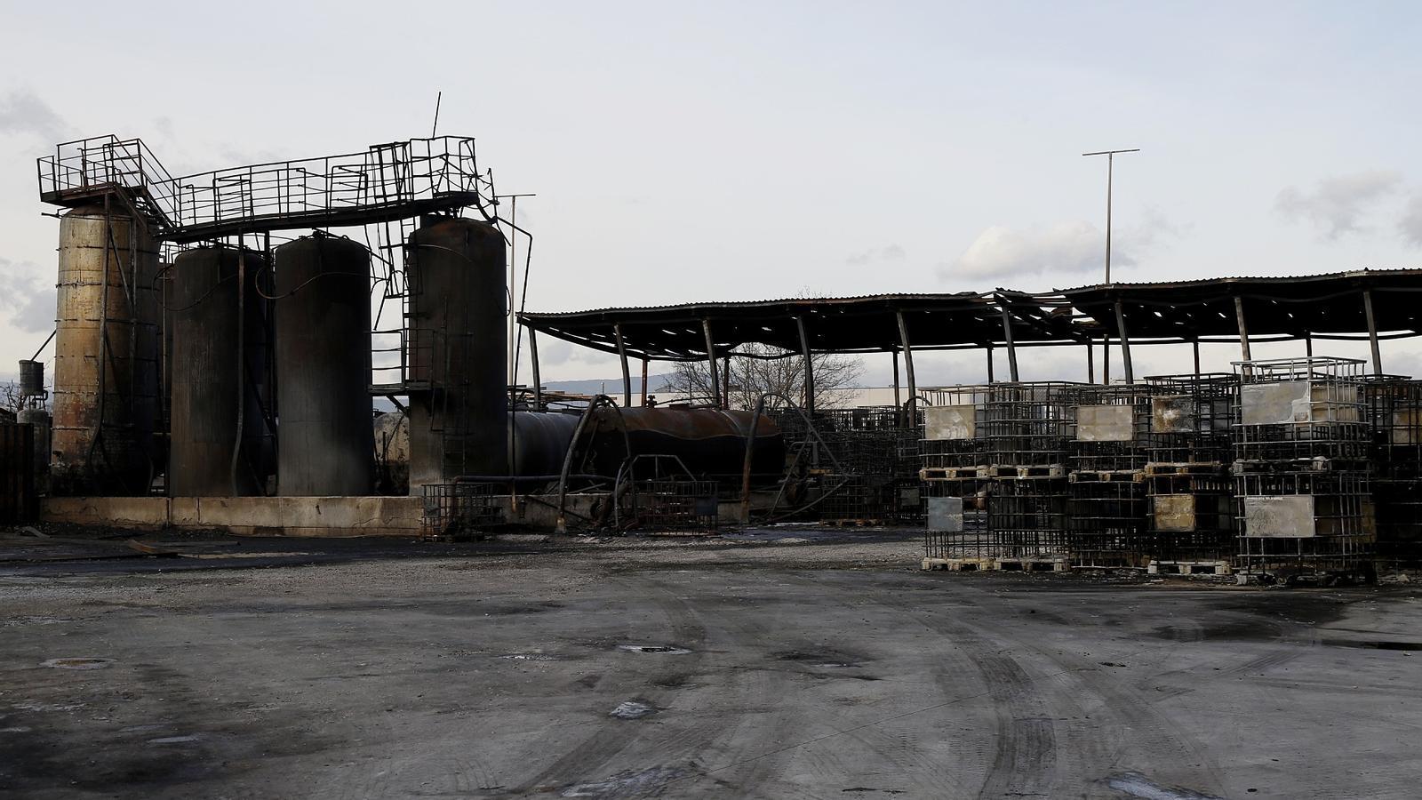 La Fiscalia investiga la contaminació generada per l'incendi de la fàbrica de Montornès del Vallès