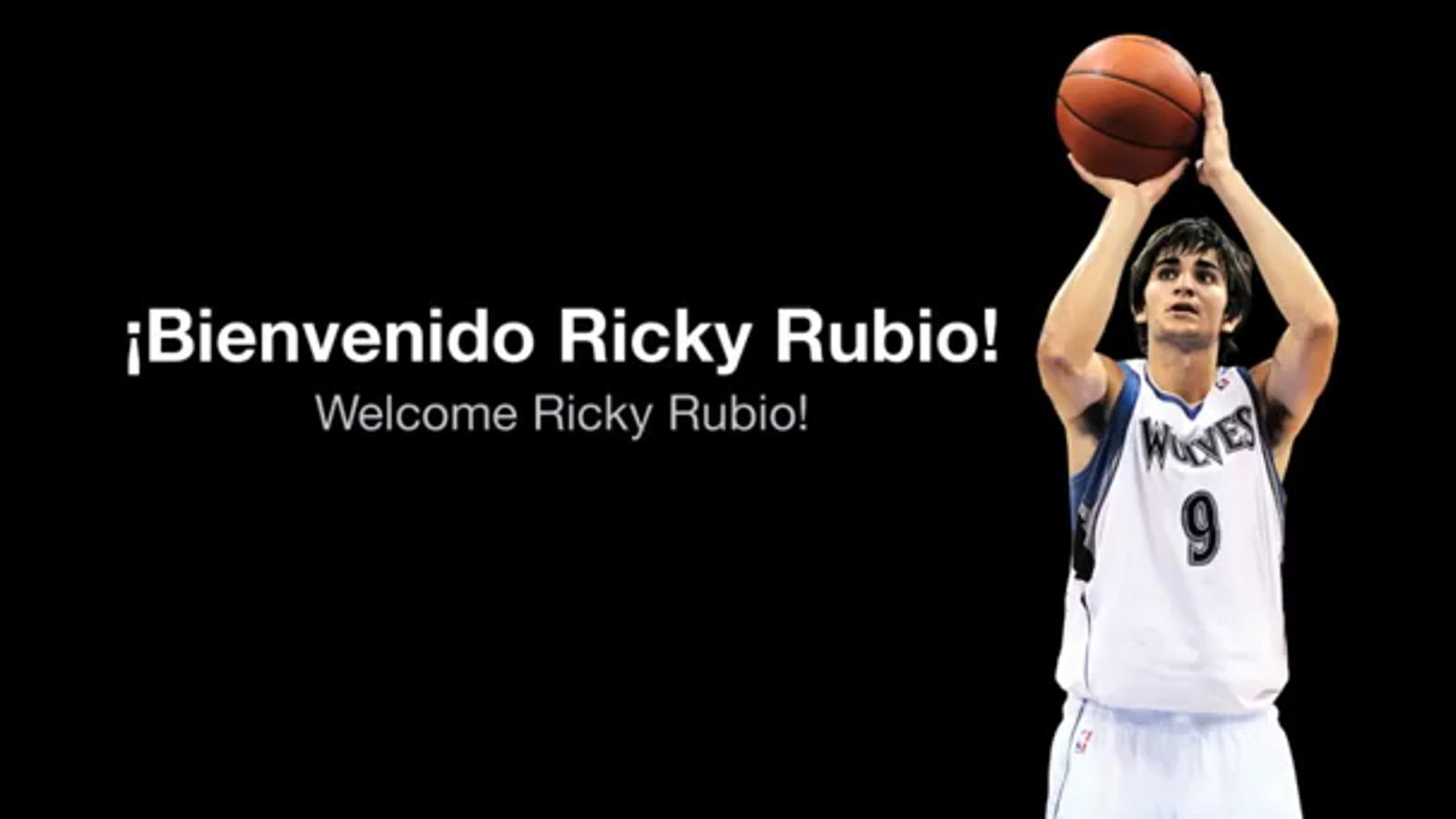 Welcome Ricky Rubio!