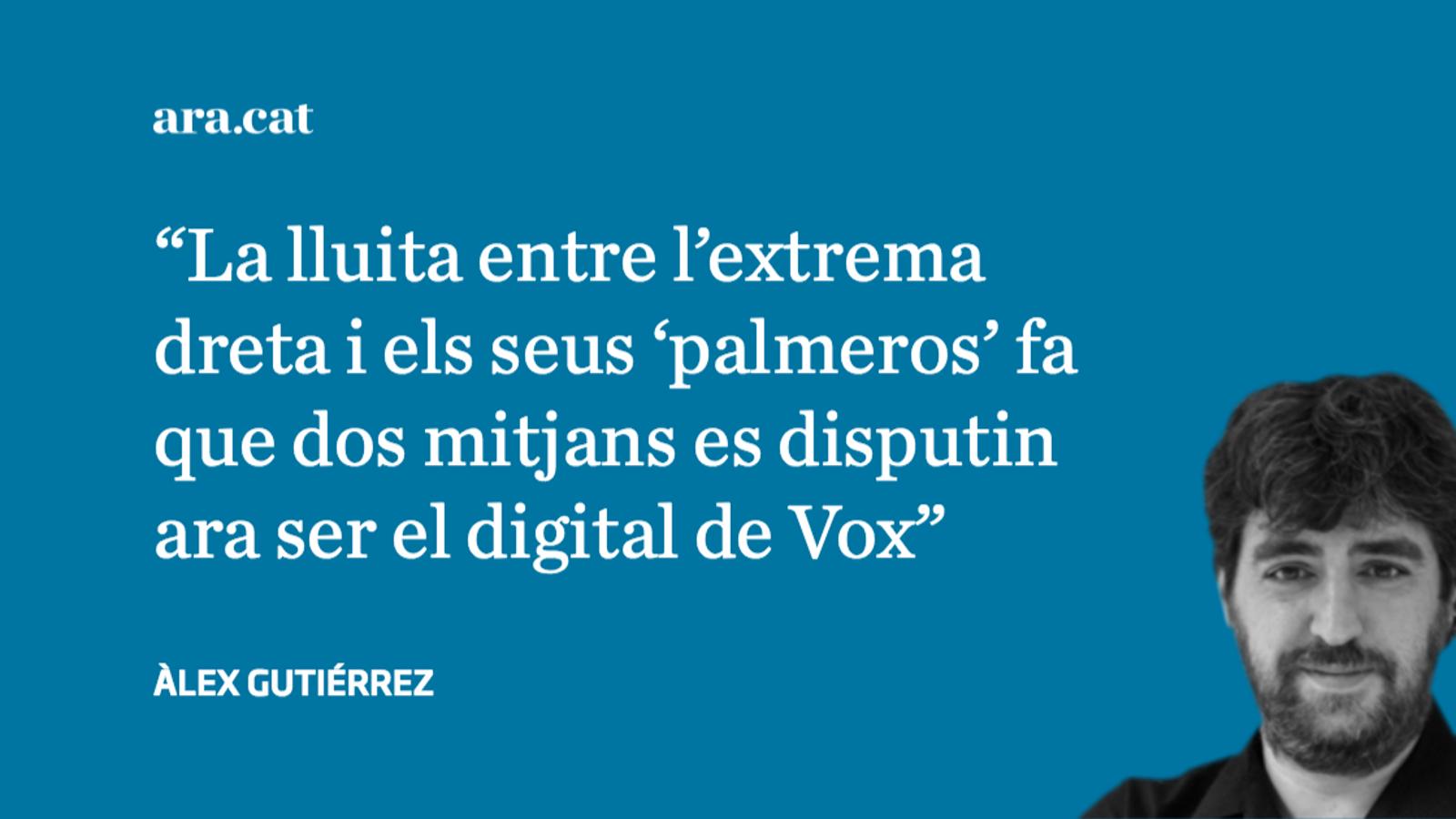 La miserable cursa per ser el digital de referència de Vox