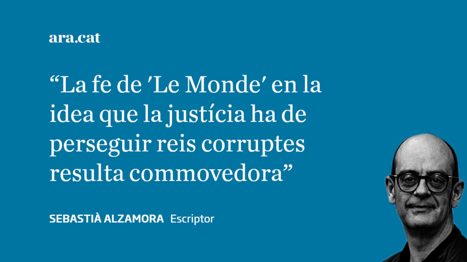 Gràcies, però no serà així, 'Le Monde'