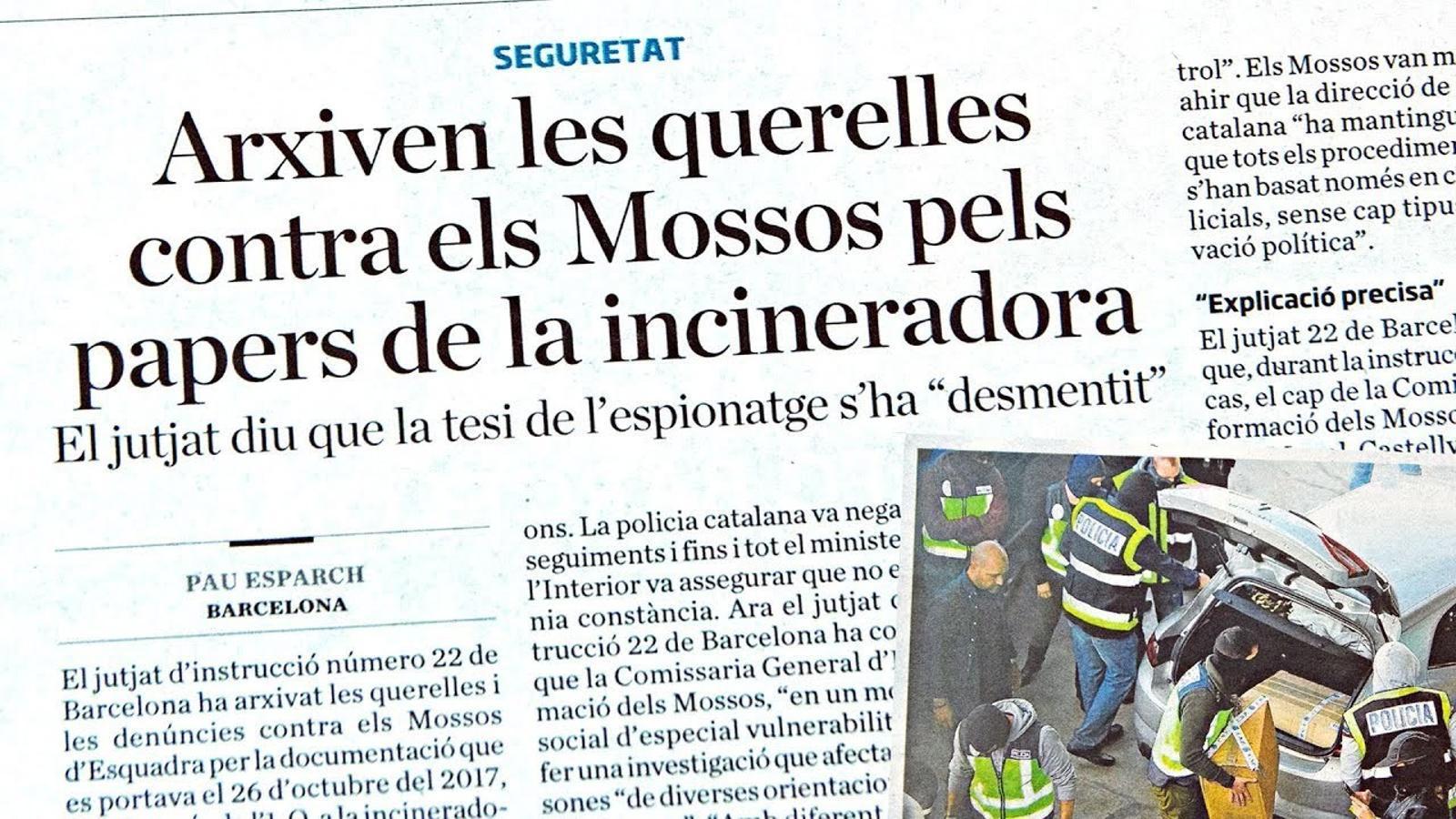 L'anàlisi d'Antoni Bassas: 'Albiol va dir que els Mossos havien actuat com la Gestapo'
