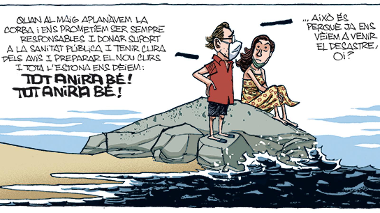 'A la contra', per Manel Fontdevila 22/08/2020