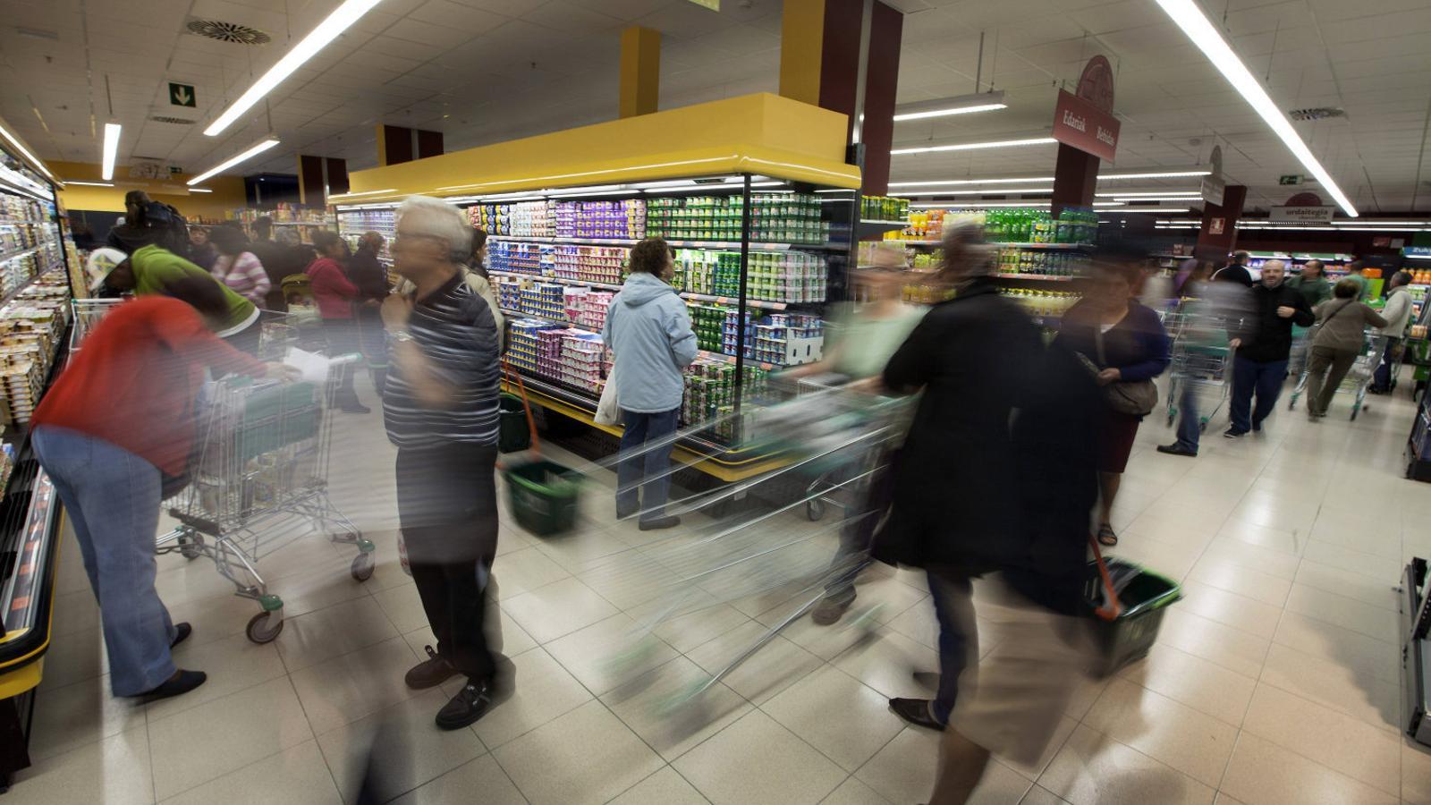 Un dels establiments que Mercadona, líder de supermercats a Espanya, té a Euskadi.