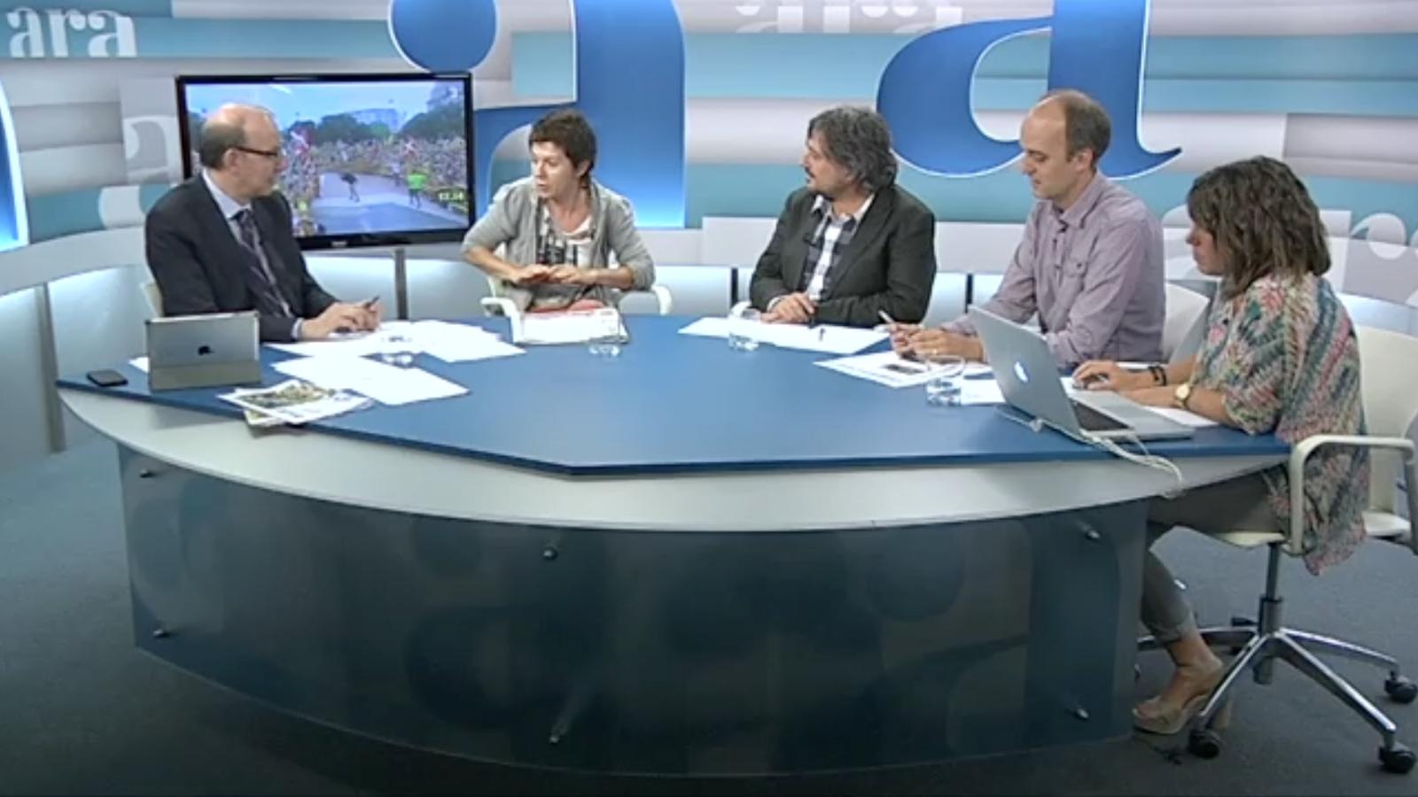 Especial Diada 2013 a l'Ara TV, amb Antoni Bassas (Part 2)