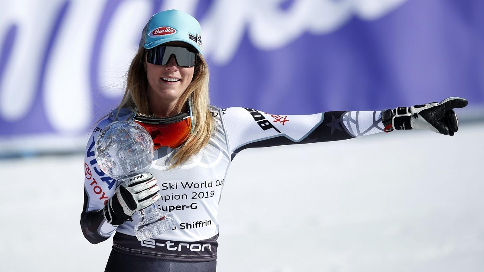 Mikaela Shiffrin, o com frenar per guanyar un Campionat del Món