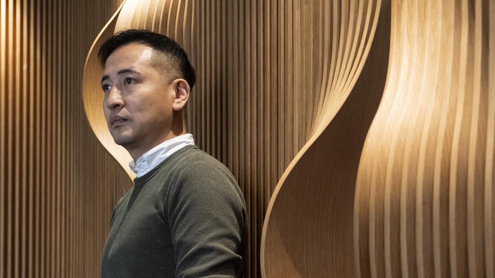 Jason Y. Ng, escriptor i activista pro-democràcia a Hong Kong, va visitar Barcelona.