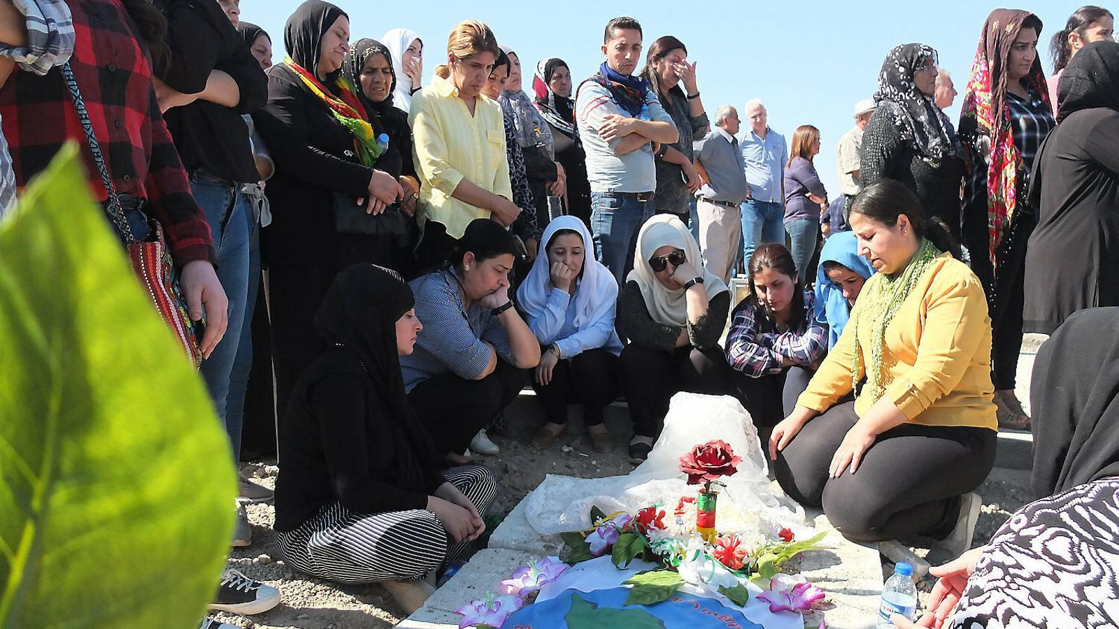 Els kurds de Síria es llepen les ferides