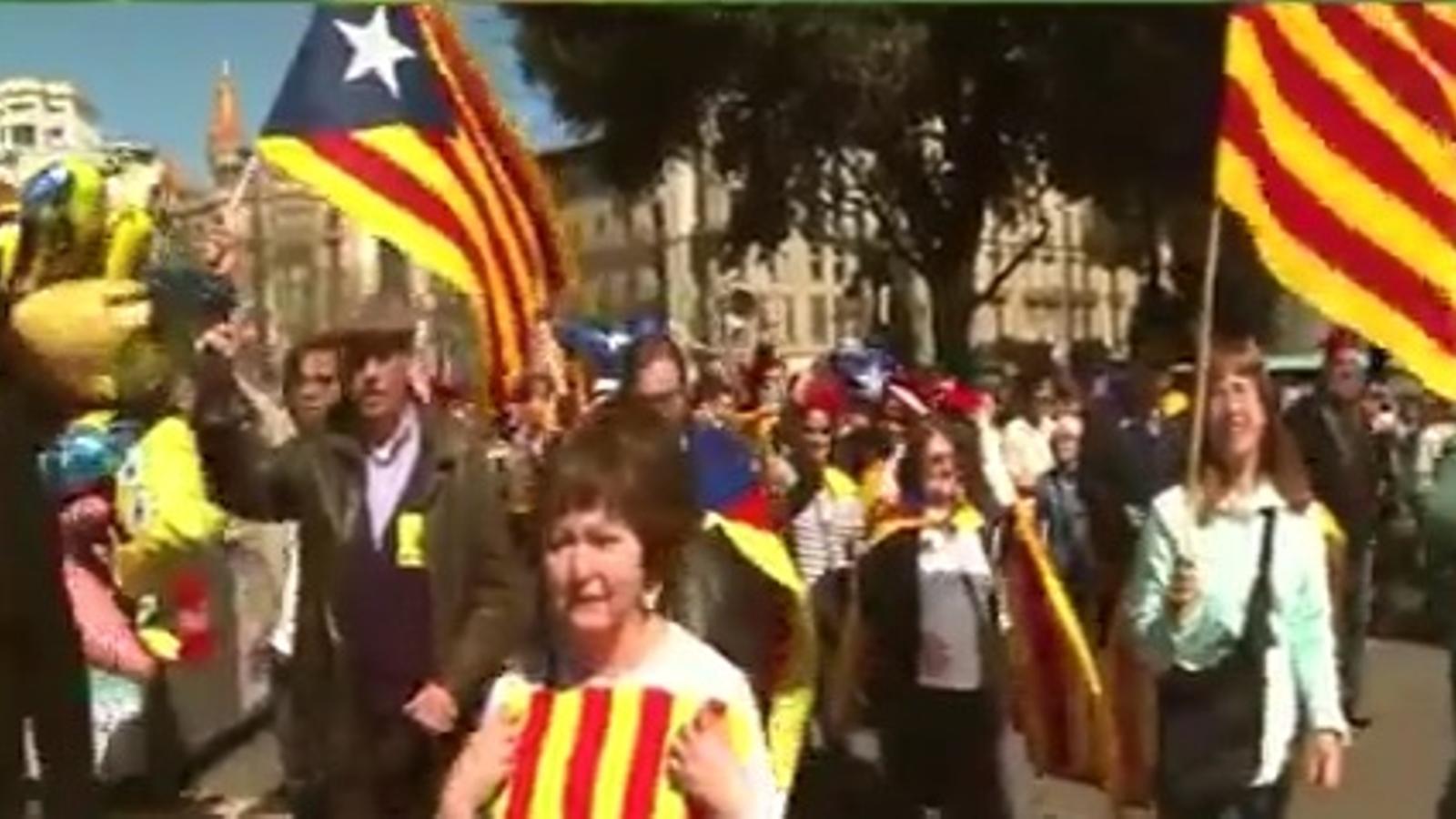 'Catalunya, nou Estat d'Europa': l'ANC crida a manifestar-se l'Onze de Setembre per la independència