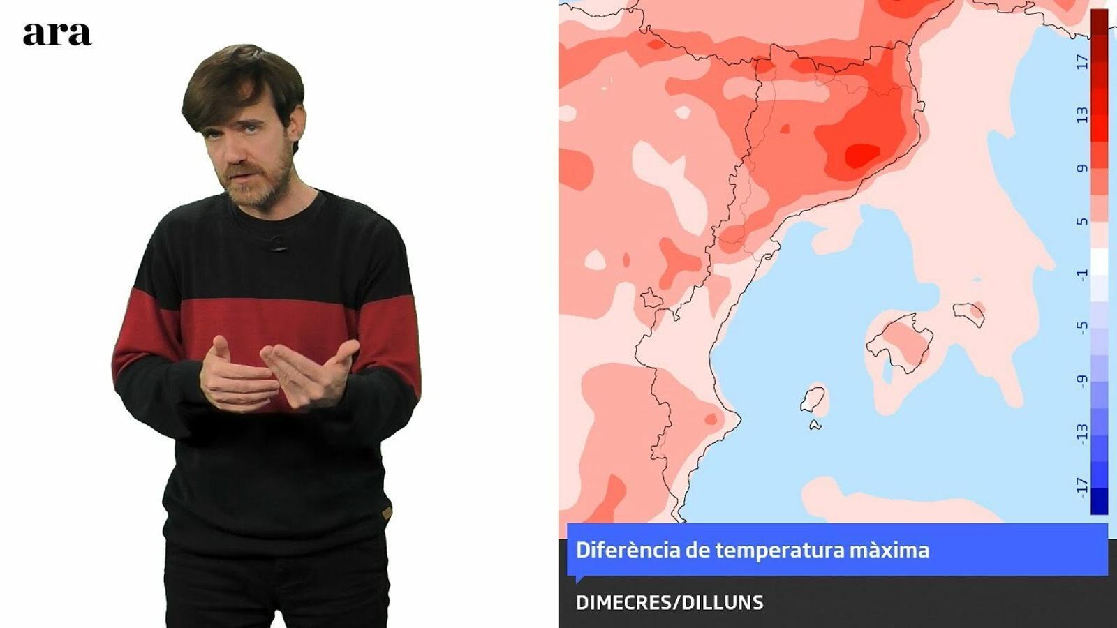La méteo: la pròxima nit serà més freda però l'hivern agonitza
