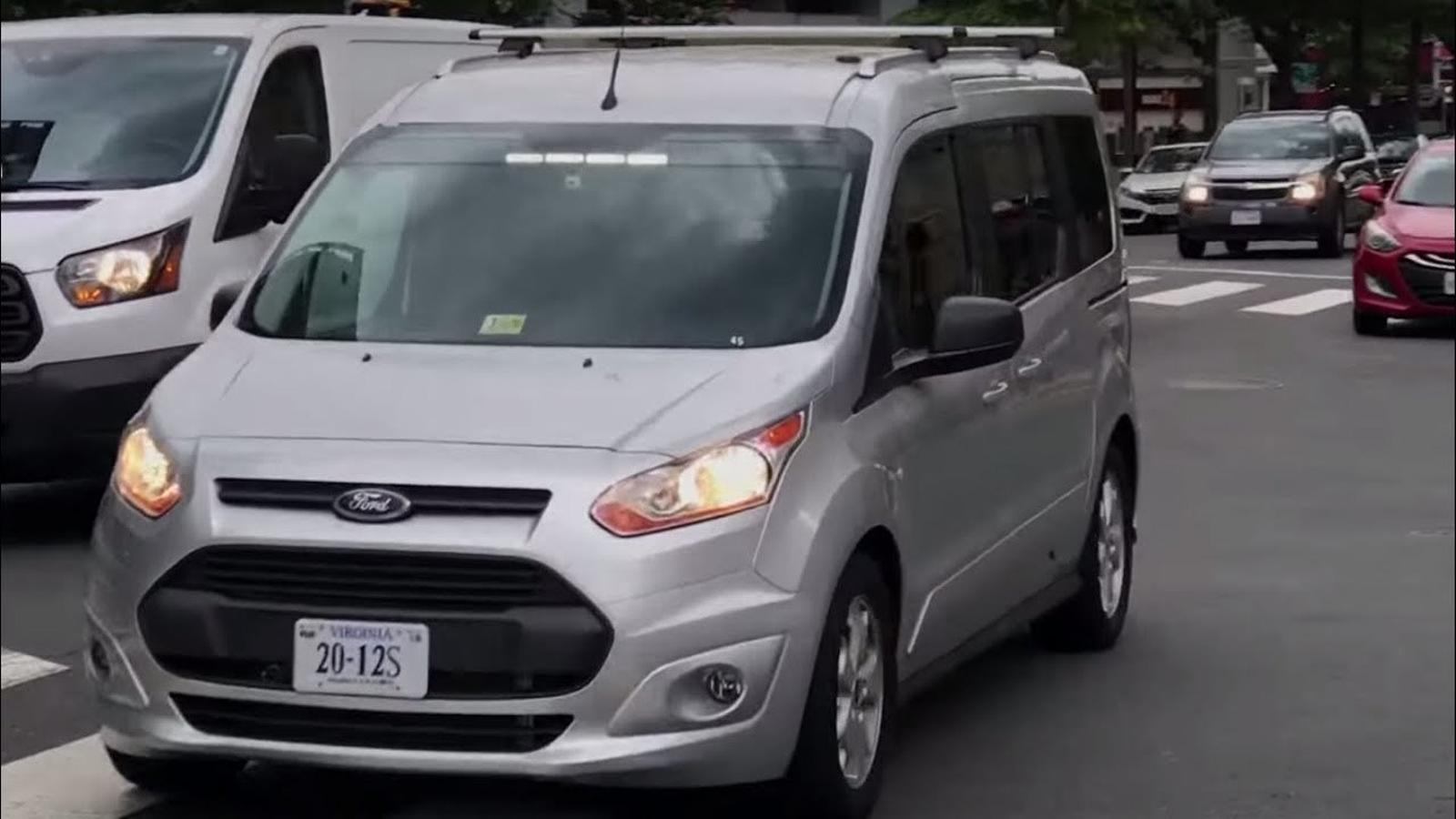 'The Guardian' va publicar un vídeo del fals cotxe autònom