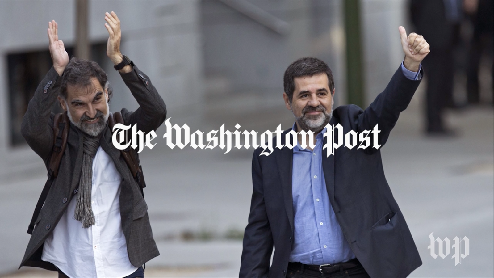 El 'Washington Post' publica un vídeo sobre l'empresonament dels Jordis