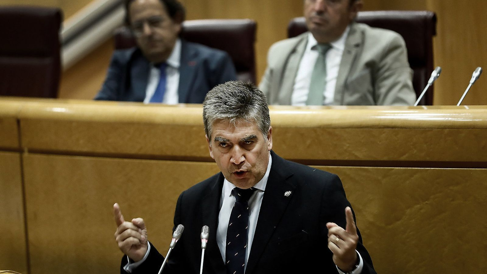 """""""Controlarem la sala segona des del darrere"""": el 'whatsapp' de Cosidó justificant el pacte amb el PSOE al CGPJ"""
