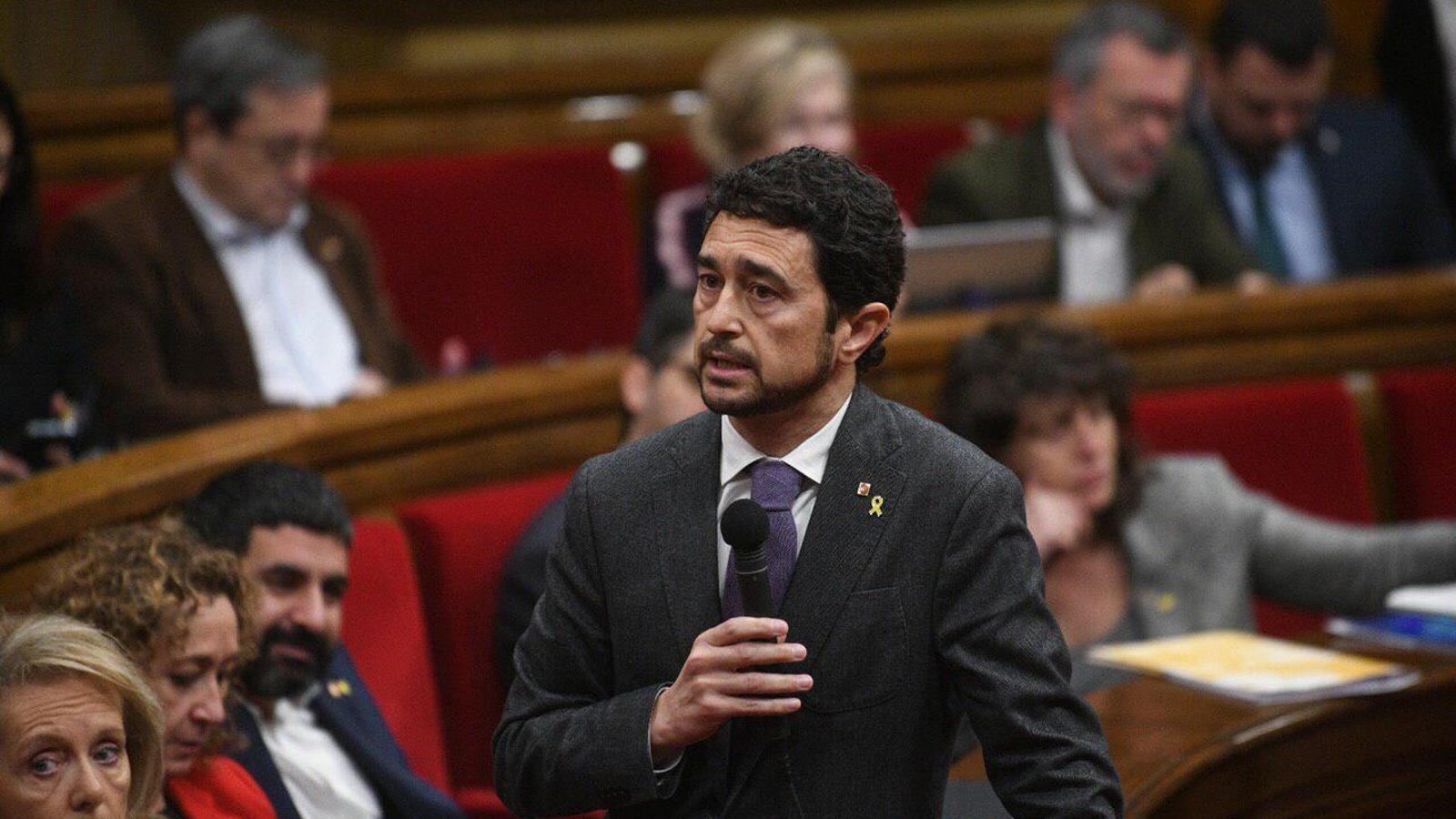 """Damià Calvet: """"Hi ha un greuge en l'atenció de la Generalitat cap al món rural"""""""