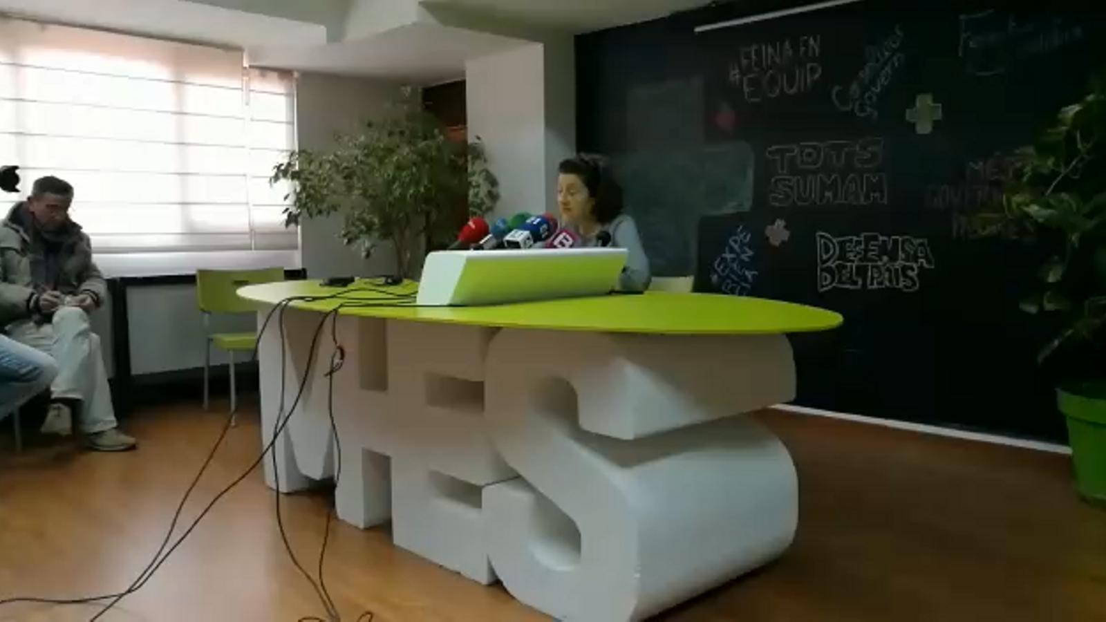 """Fina Santiago: """"Sóc la millor candidata per repetir govern progressista"""""""