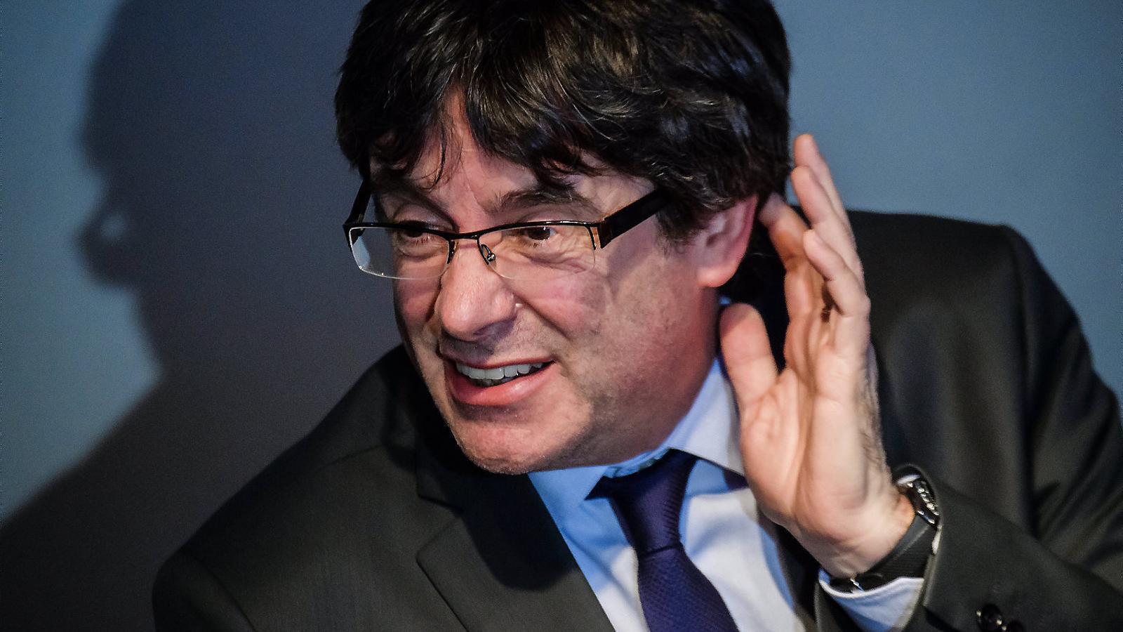 Doble revés a la investidura a distància de Puigdemont