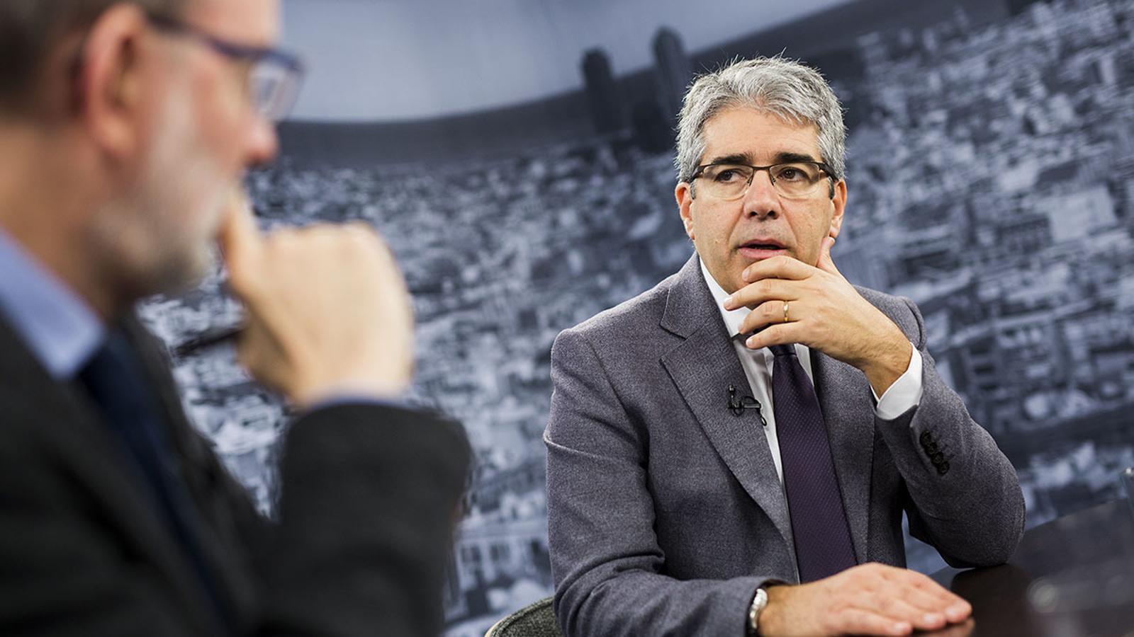 Antoni Bassas entrevista a Francesc Homs
