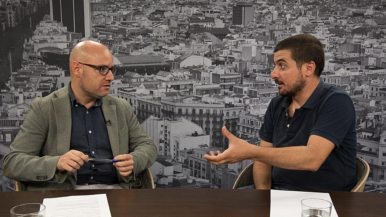 Entrevista de David Miró a Quim Arrufat