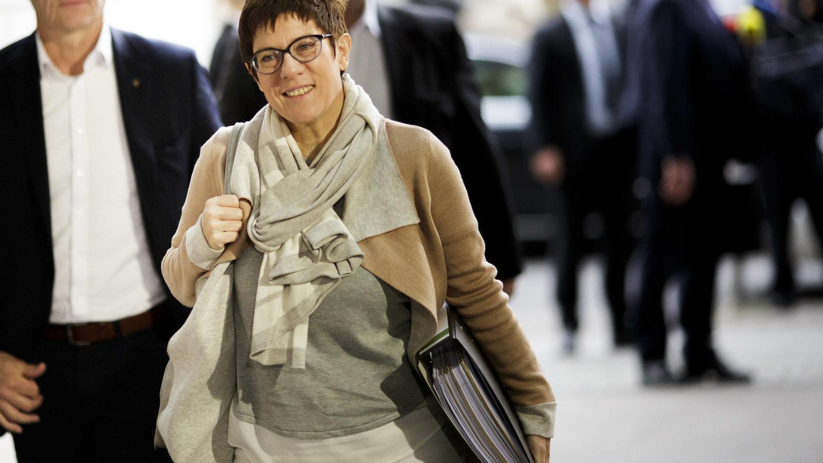 AKK, l'esperança tranquil·la de la CDU