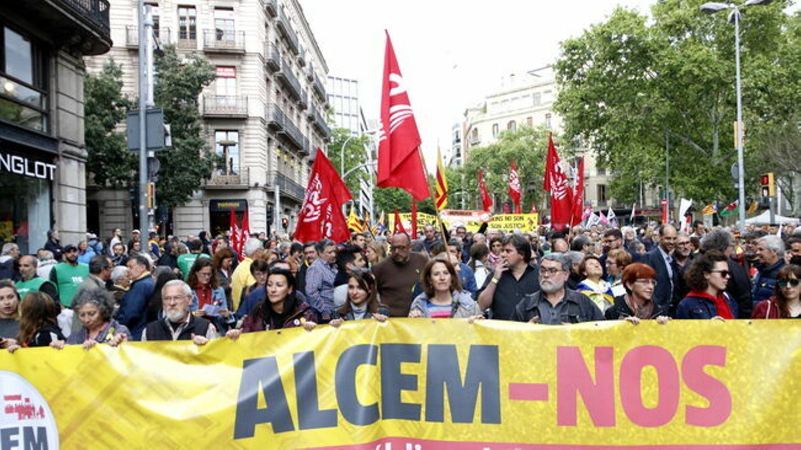 La Intersindical ajorna fins al 18 d'octubre la vaga general