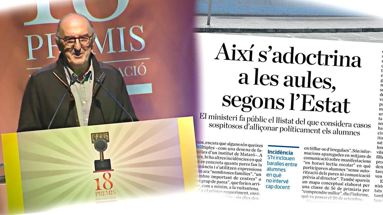 L'anàlisi d'Antoni Bassas: 'Les mentides de l'Estat sobre l'escola a Catalunya i el vídeo de Jaume Roures'