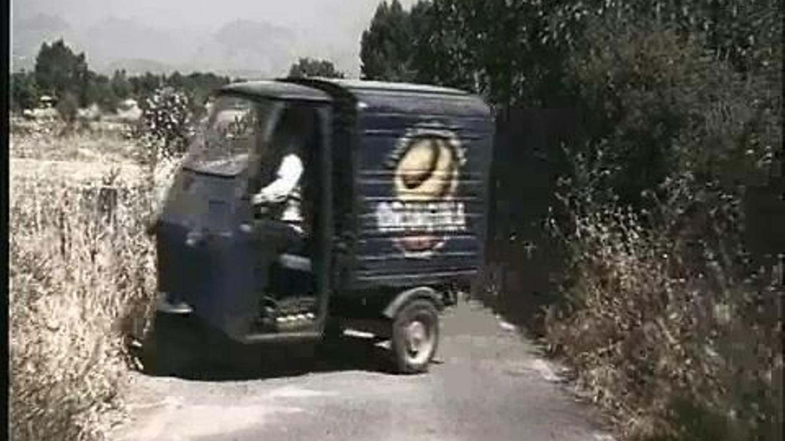 Anunci d'Orangina fet a Mallorca