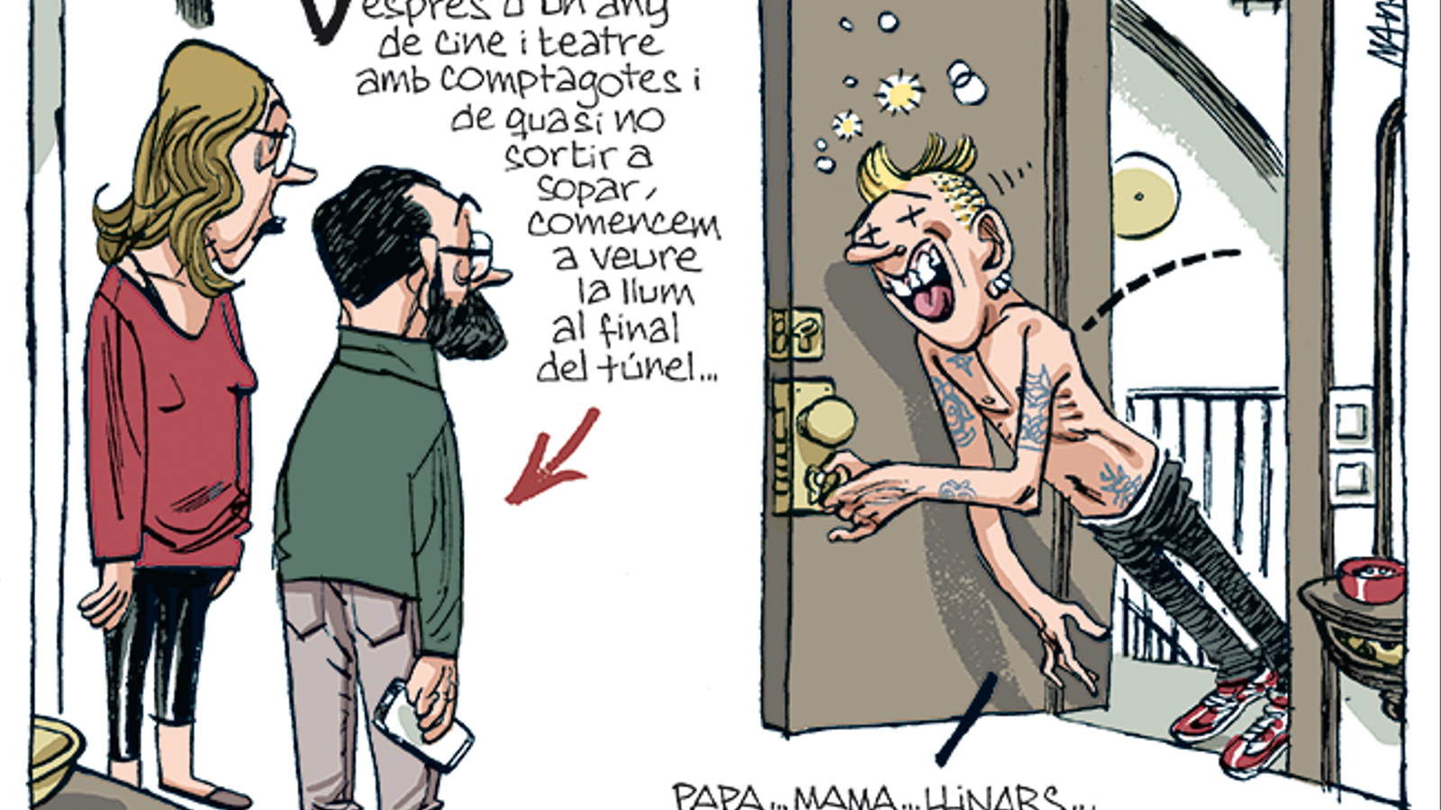 La vinyeta de Manel Fontdevila 03/01/2021