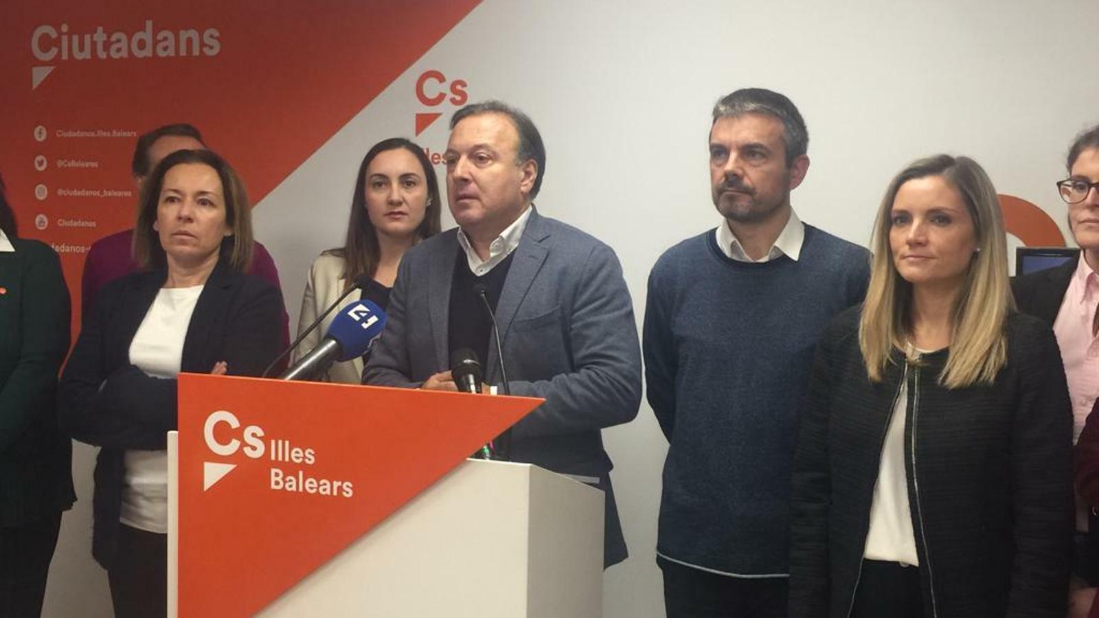 Ciutadans perd dos terços del suport a les Balears, i Mesquida queda sense escó
